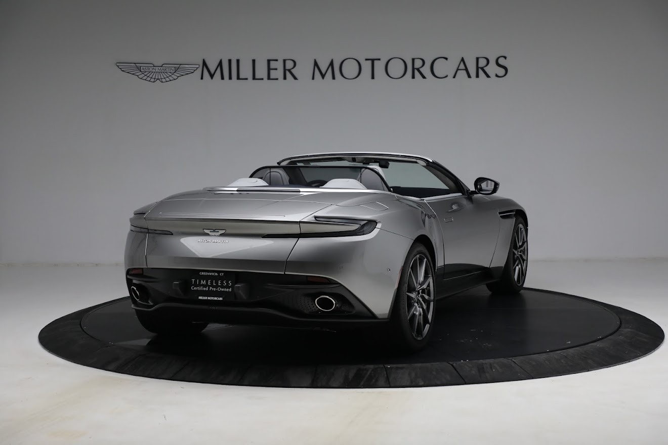 New 2019 Aston Martin DB11 V8 Convertible For Sale In Greenwich, CT. Alfa Romeo of Greenwich, A1361 3147_p7