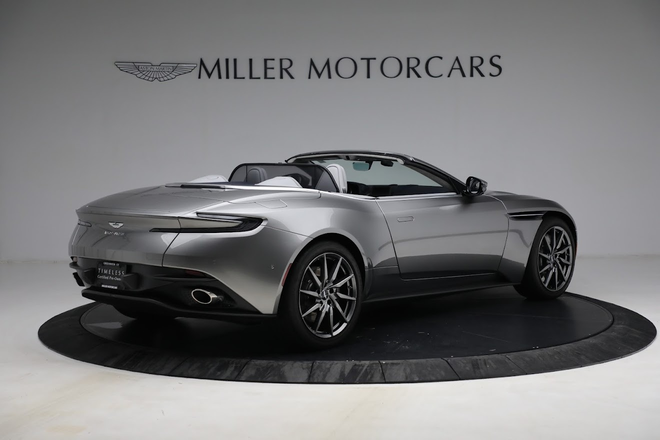 New 2019 Aston Martin DB11 V8 Convertible For Sale In Greenwich, CT. Alfa Romeo of Greenwich, A1361 3147_p8