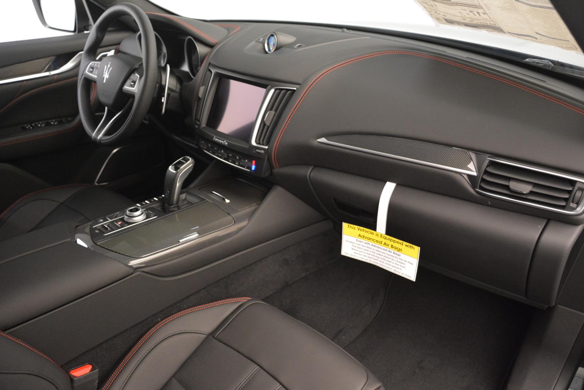 New 2019 Maserati Levante S Q4 GranSport For Sale In Greenwich, CT. Alfa Romeo of Greenwich, M2300 3149_p21