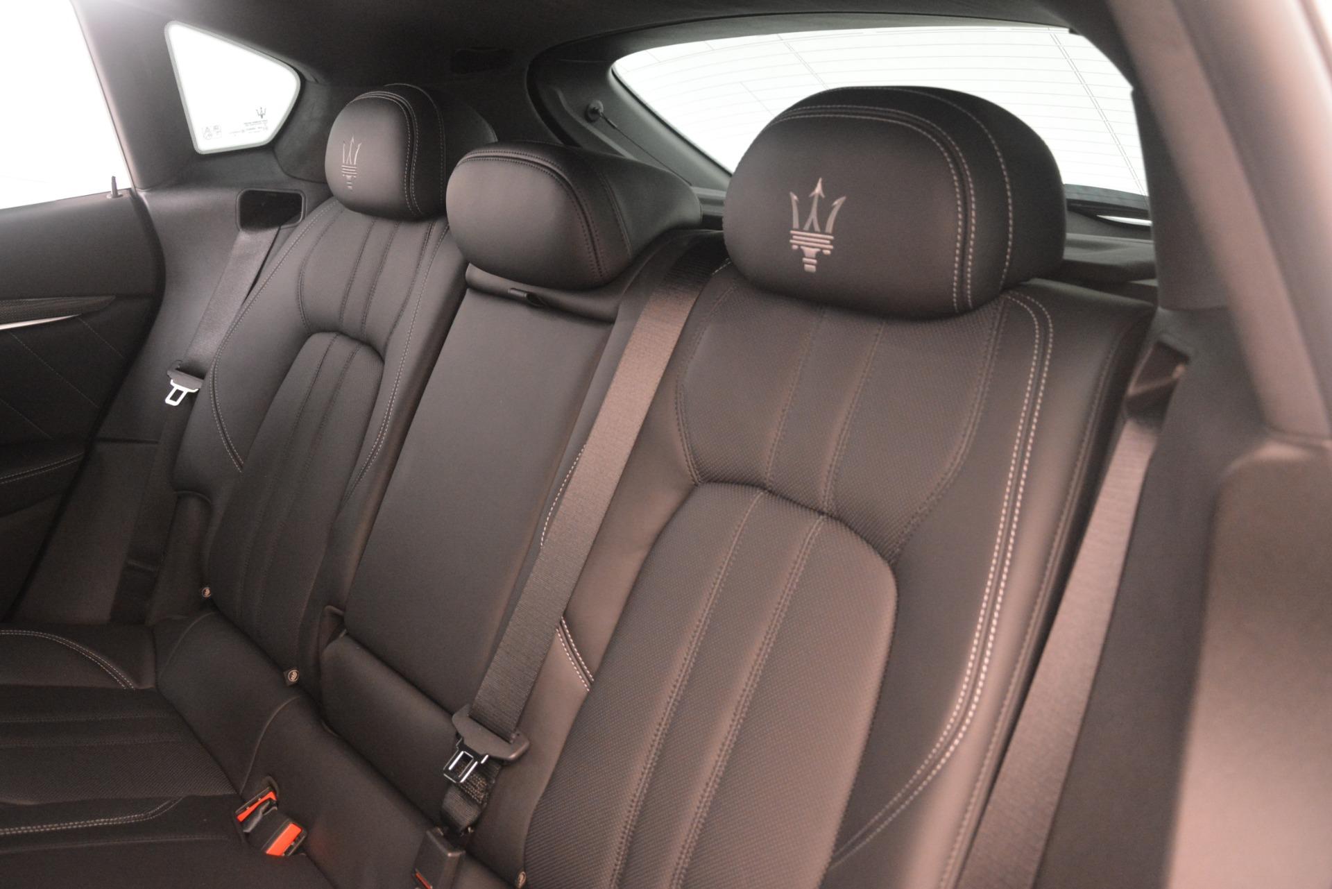 New 2019 Maserati Levante S Q4 GranSport For Sale In Greenwich, CT. Alfa Romeo of Greenwich, M2305 3152_p18