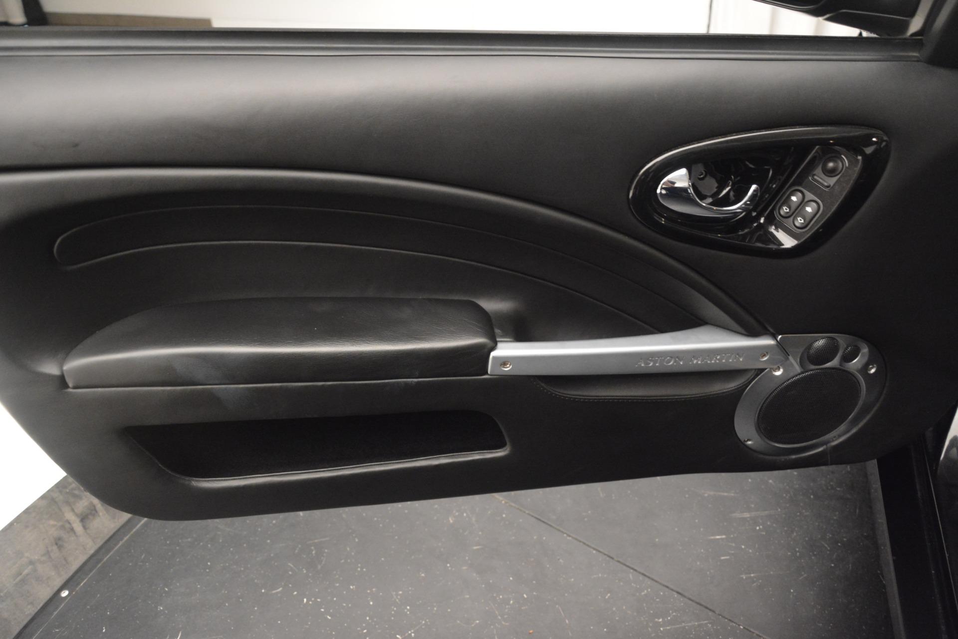 Used 2004 Aston Martin V12 Vanquish  For Sale In Greenwich, CT. Alfa Romeo of Greenwich, 7557C 3160_p15