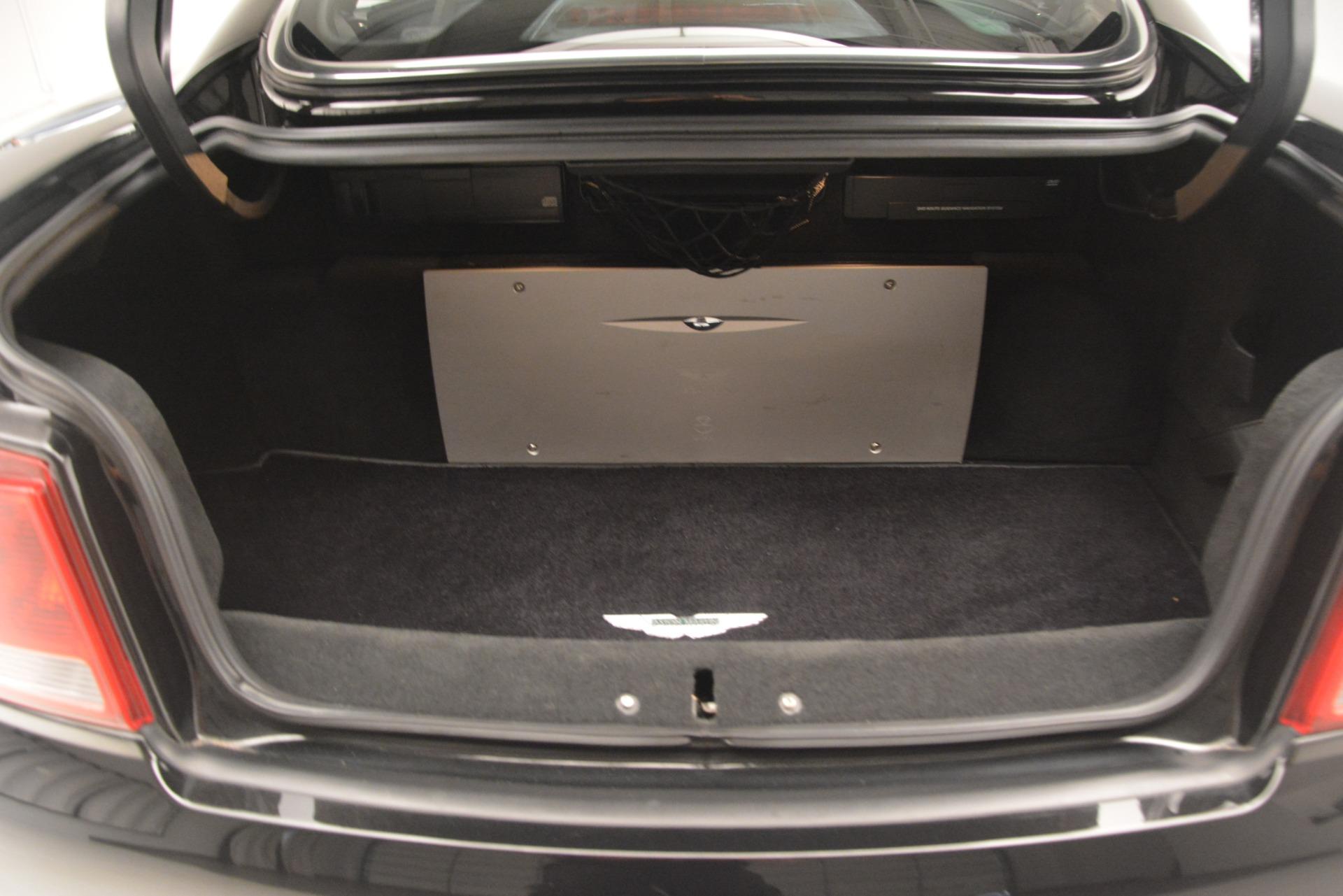 Used 2004 Aston Martin V12 Vanquish  For Sale In Greenwich, CT. Alfa Romeo of Greenwich, 7557C 3160_p16