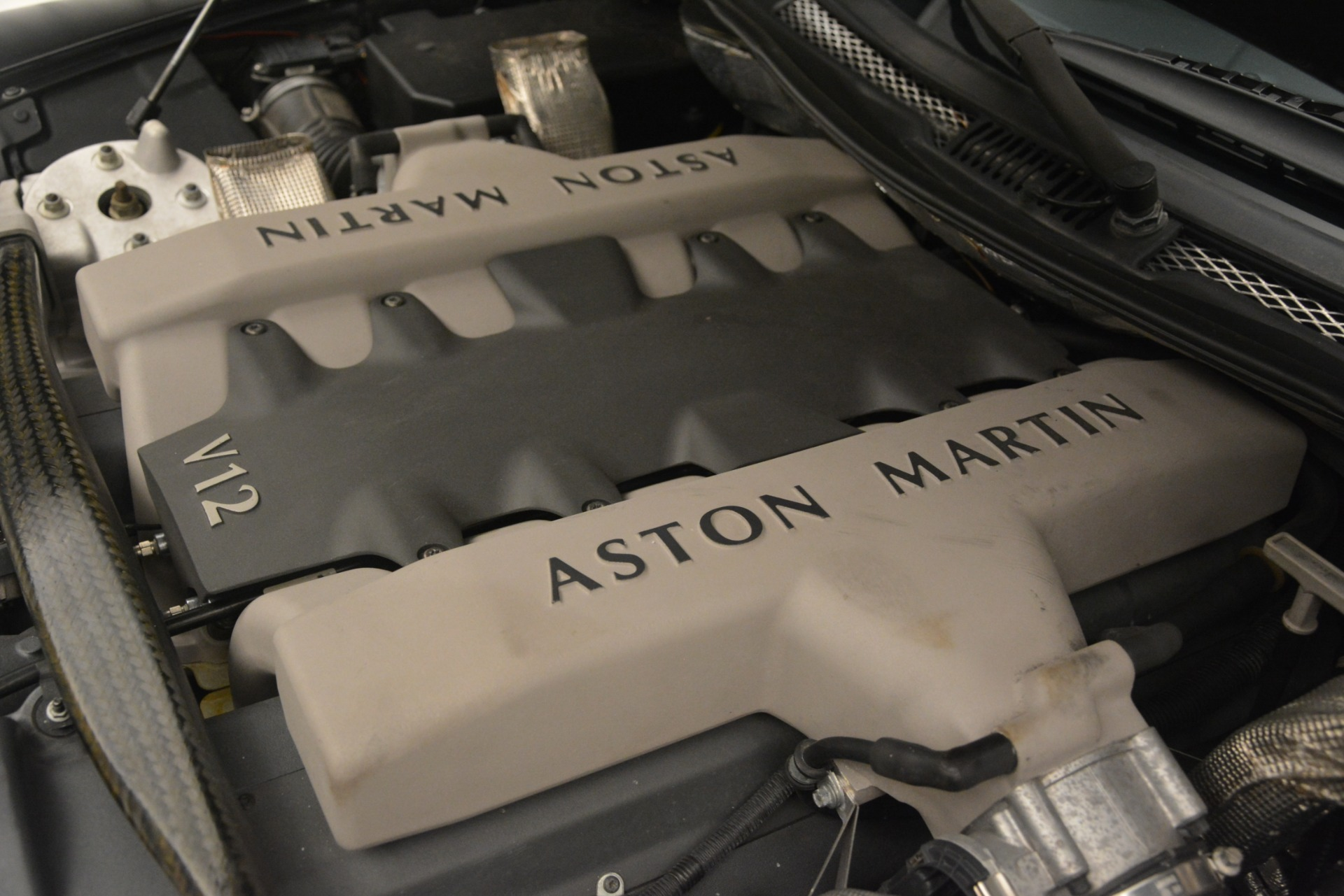 Used 2004 Aston Martin V12 Vanquish  For Sale In Greenwich, CT. Alfa Romeo of Greenwich, 7557C 3160_p21