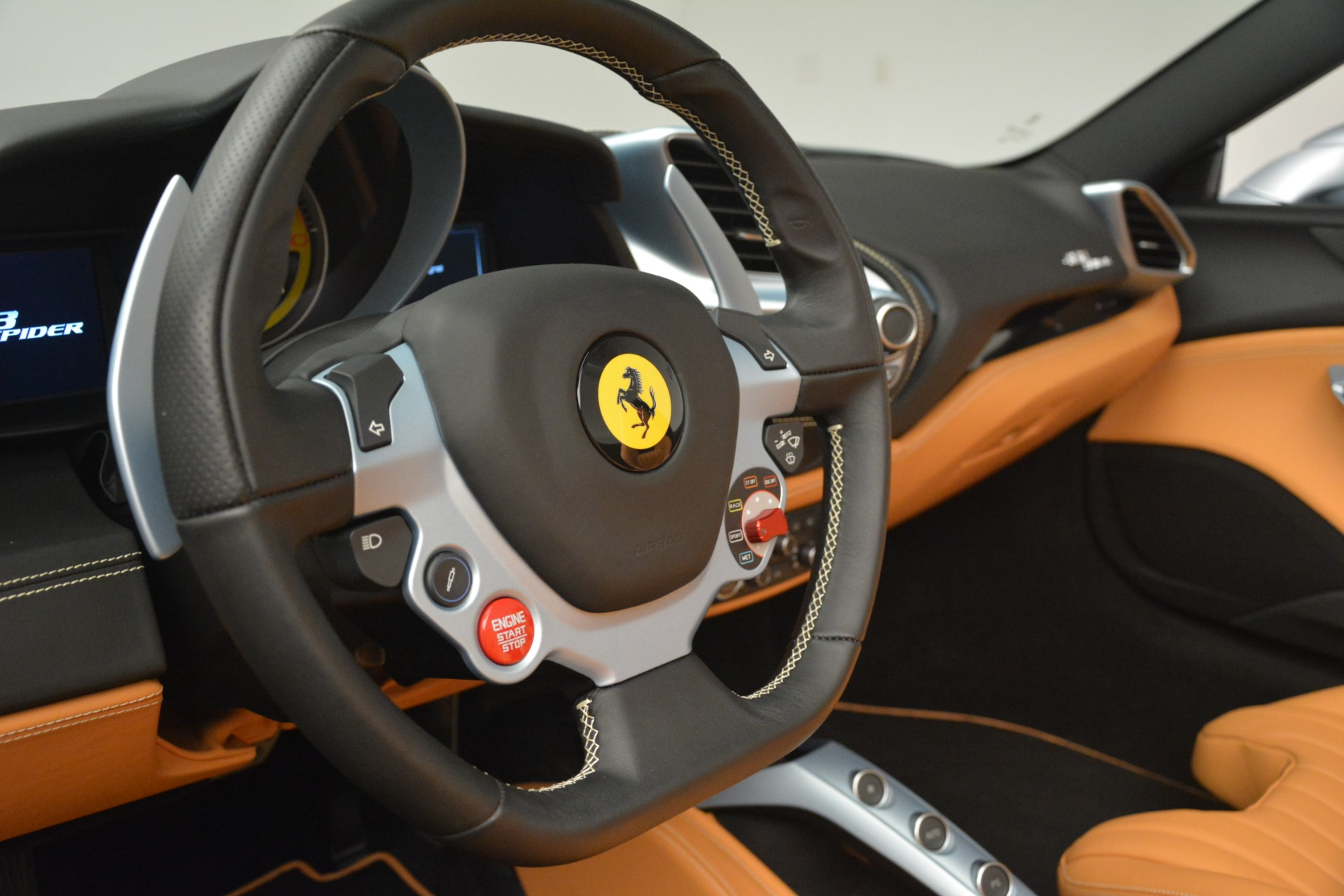 Used 2018 Ferrari 488 Spider  For Sale In Greenwich, CT. Alfa Romeo of Greenwich, 4562 3168_p27