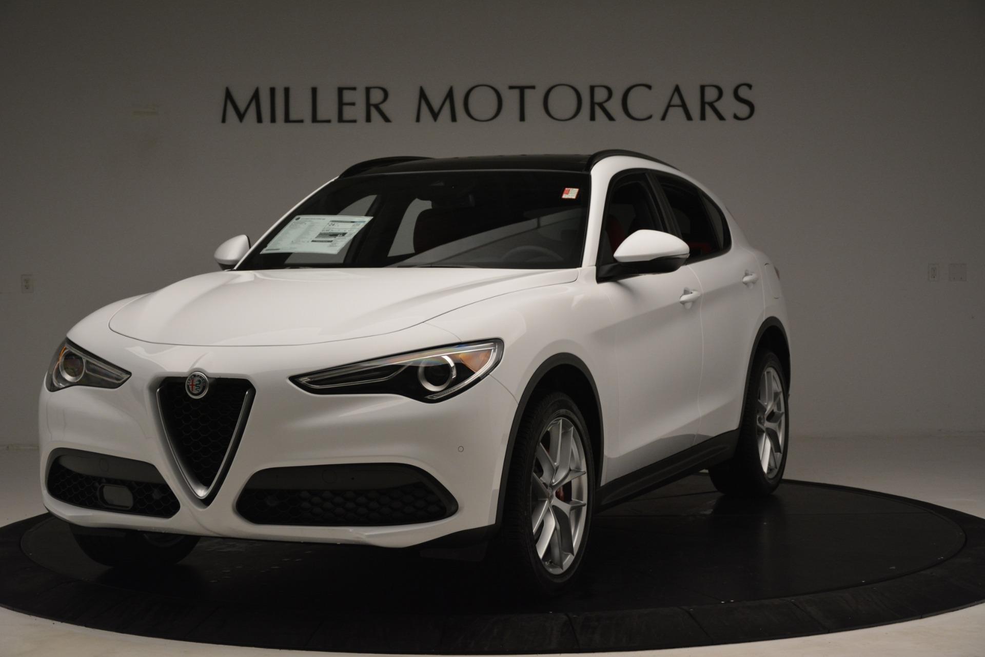 New 2019 Alfa Romeo Stelvio Ti Sport Q4 For Sale In Greenwich, CT. Alfa Romeo of Greenwich, L616 3173_main