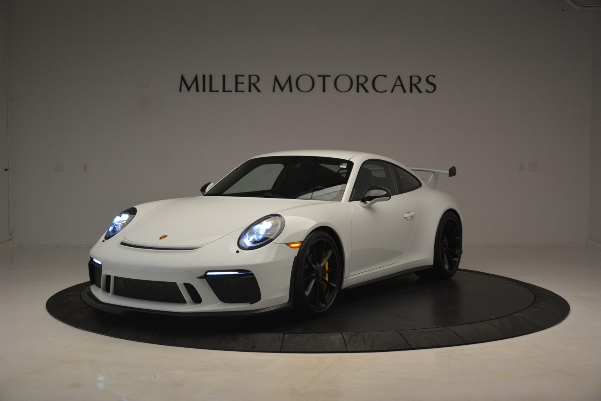 Used 2018 Porsche 911 GT3 For Sale In Greenwich, CT. Alfa Romeo of Greenwich, 7559 3176_main