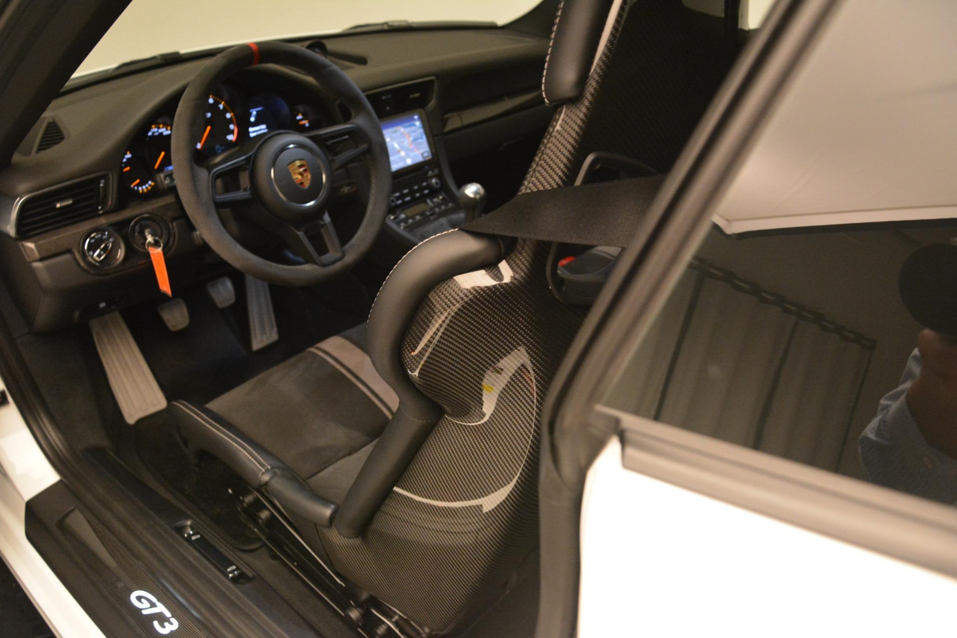 Used 2018 Porsche 911 GT3 For Sale In Greenwich, CT. Alfa Romeo of Greenwich, 7559 3176_p12