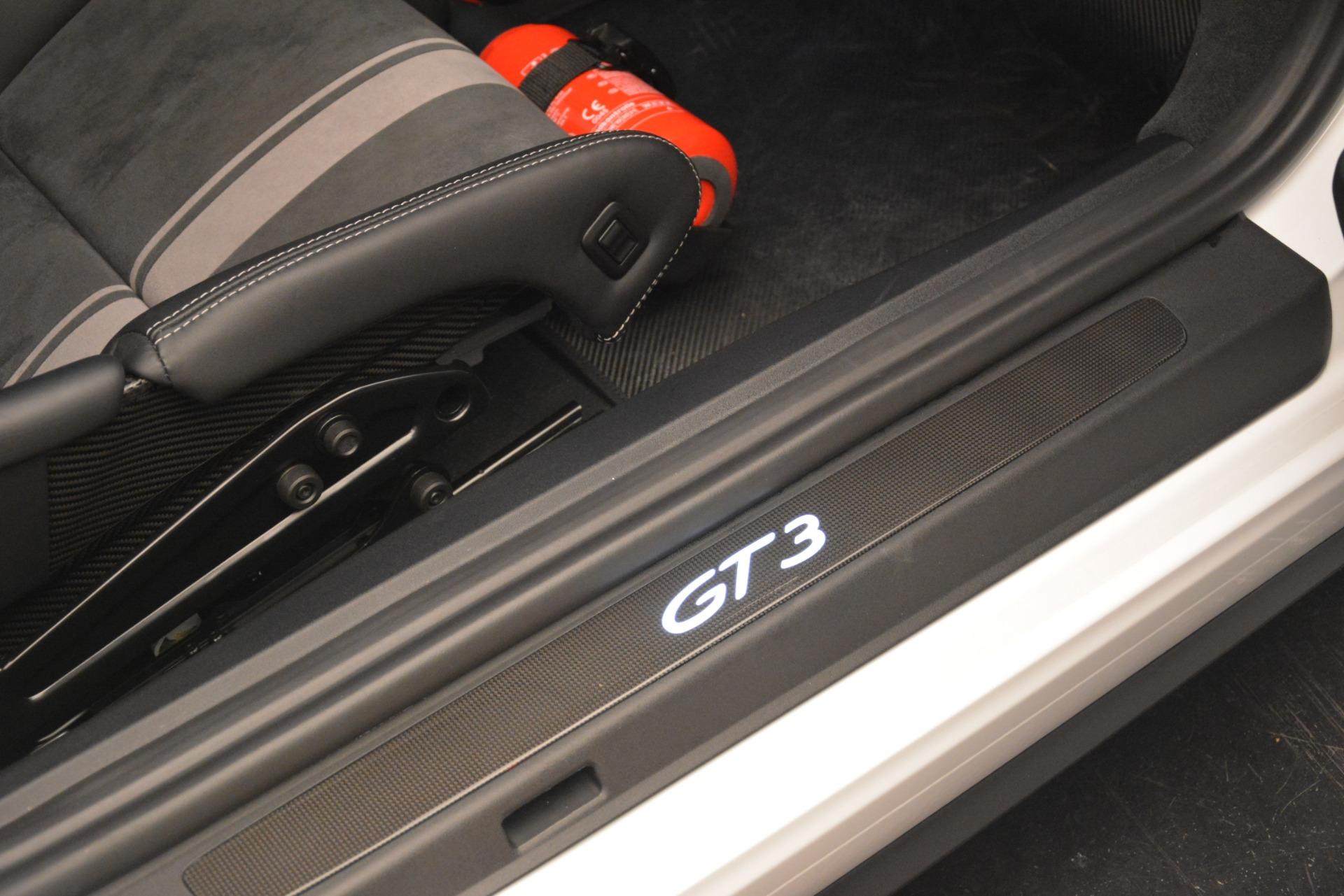 Used 2018 Porsche 911 GT3 For Sale In Greenwich, CT. Alfa Romeo of Greenwich, 7559 3176_p14