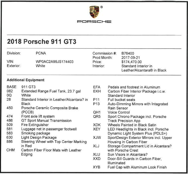 Used 2018 Porsche 911 GT3 For Sale In Greenwich, CT. Alfa Romeo of Greenwich, 7559 3176_p20