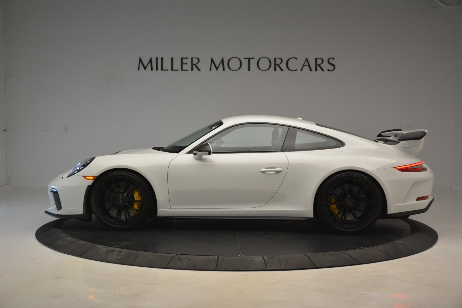Used 2018 Porsche 911 GT3 For Sale In Greenwich, CT. Alfa Romeo of Greenwich, 7559 3176_p2