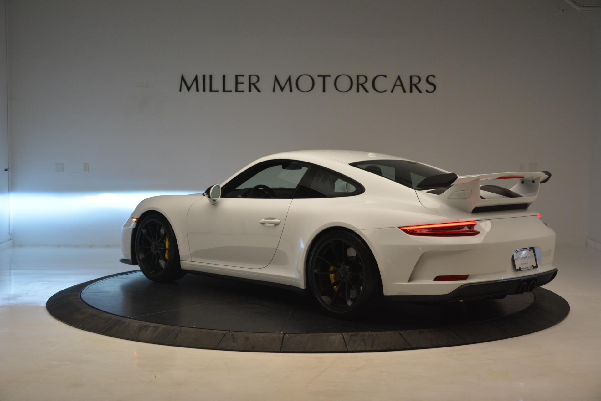 Used 2018 Porsche 911 GT3 For Sale In Greenwich, CT. Alfa Romeo of Greenwich, 7559 3176_p3