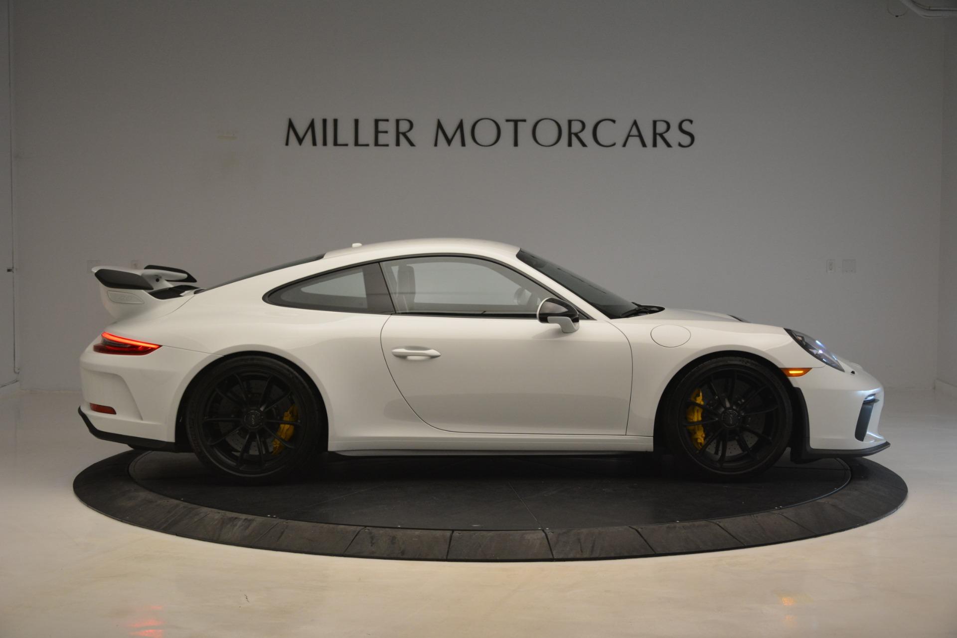 Used 2018 Porsche 911 GT3 For Sale In Greenwich, CT. Alfa Romeo of Greenwich, 7559 3176_p7