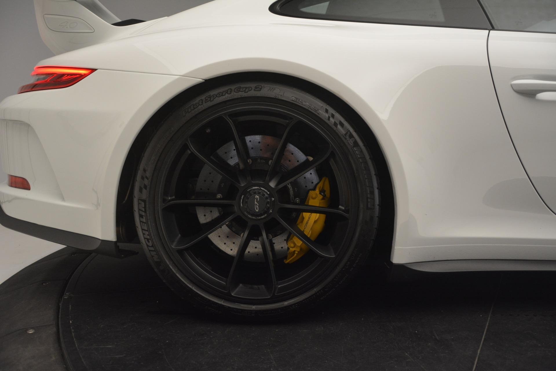Used 2018 Porsche 911 GT3 For Sale In Greenwich, CT. Alfa Romeo of Greenwich, 7559 3176_p9