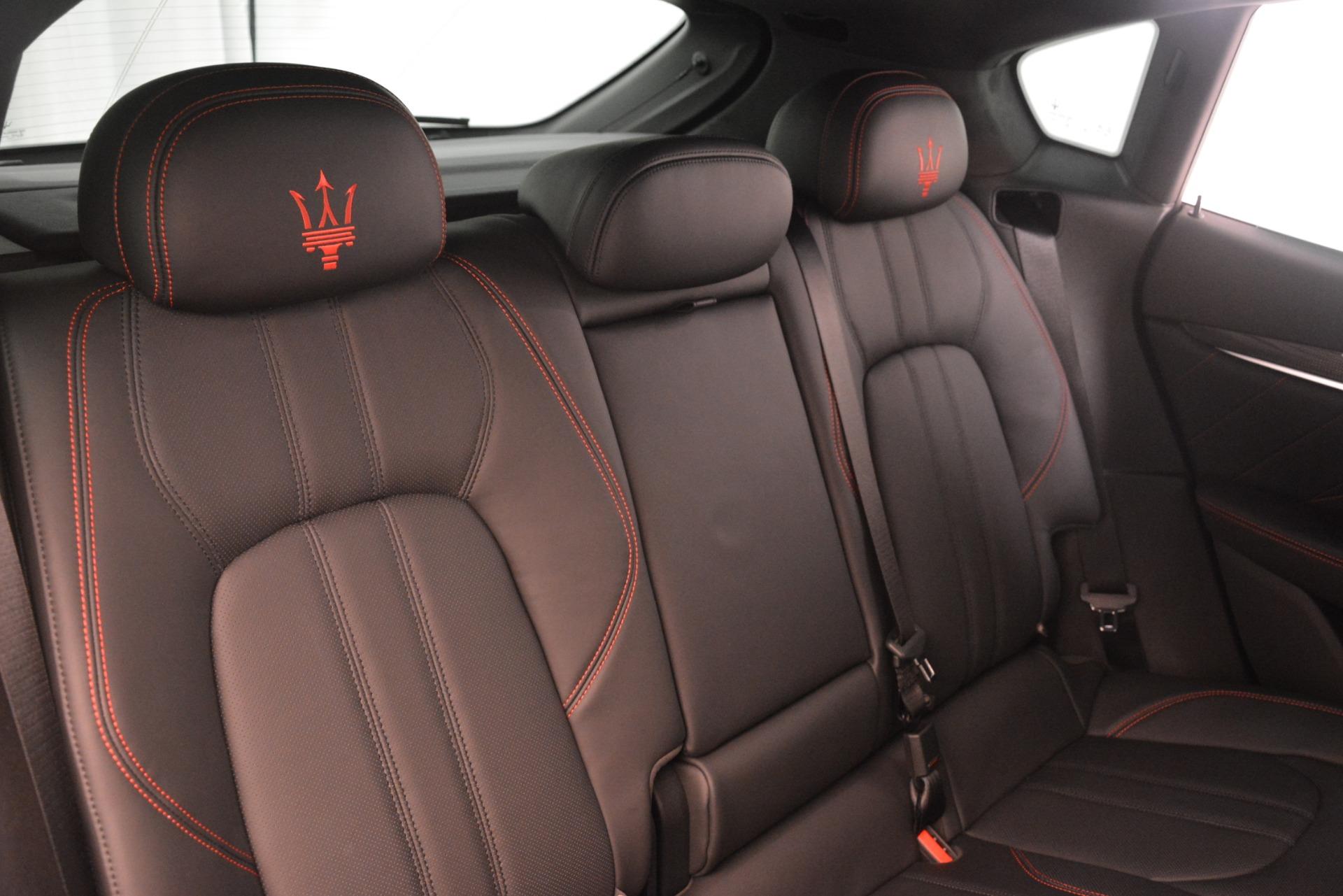 New 2019 Maserati Levante SQ4 GranSport Nerissimo For Sale In Greenwich, CT. Alfa Romeo of Greenwich, M2306 3177_p26