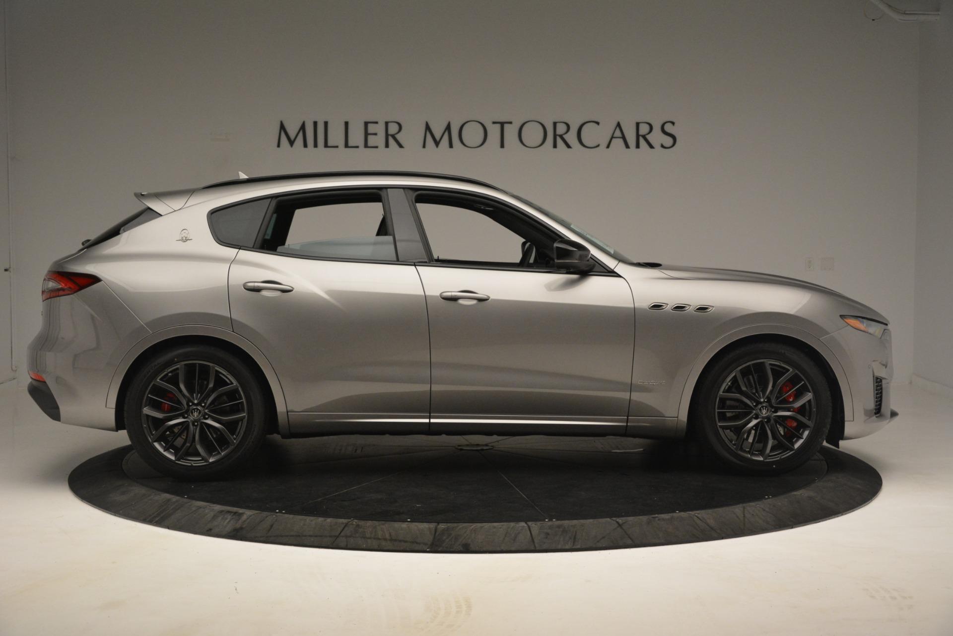 New 2019 Maserati Levante SQ4 GranSport Nerissimo For Sale In Greenwich, CT. Alfa Romeo of Greenwich, M2306 3177_p9