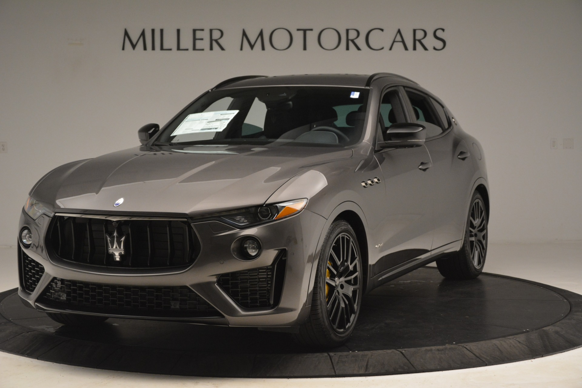 New 2019 Maserati Levante SQ4 GranSport Nerissimo For Sale In Greenwich, CT. Alfa Romeo of Greenwich, M2307 3178_main