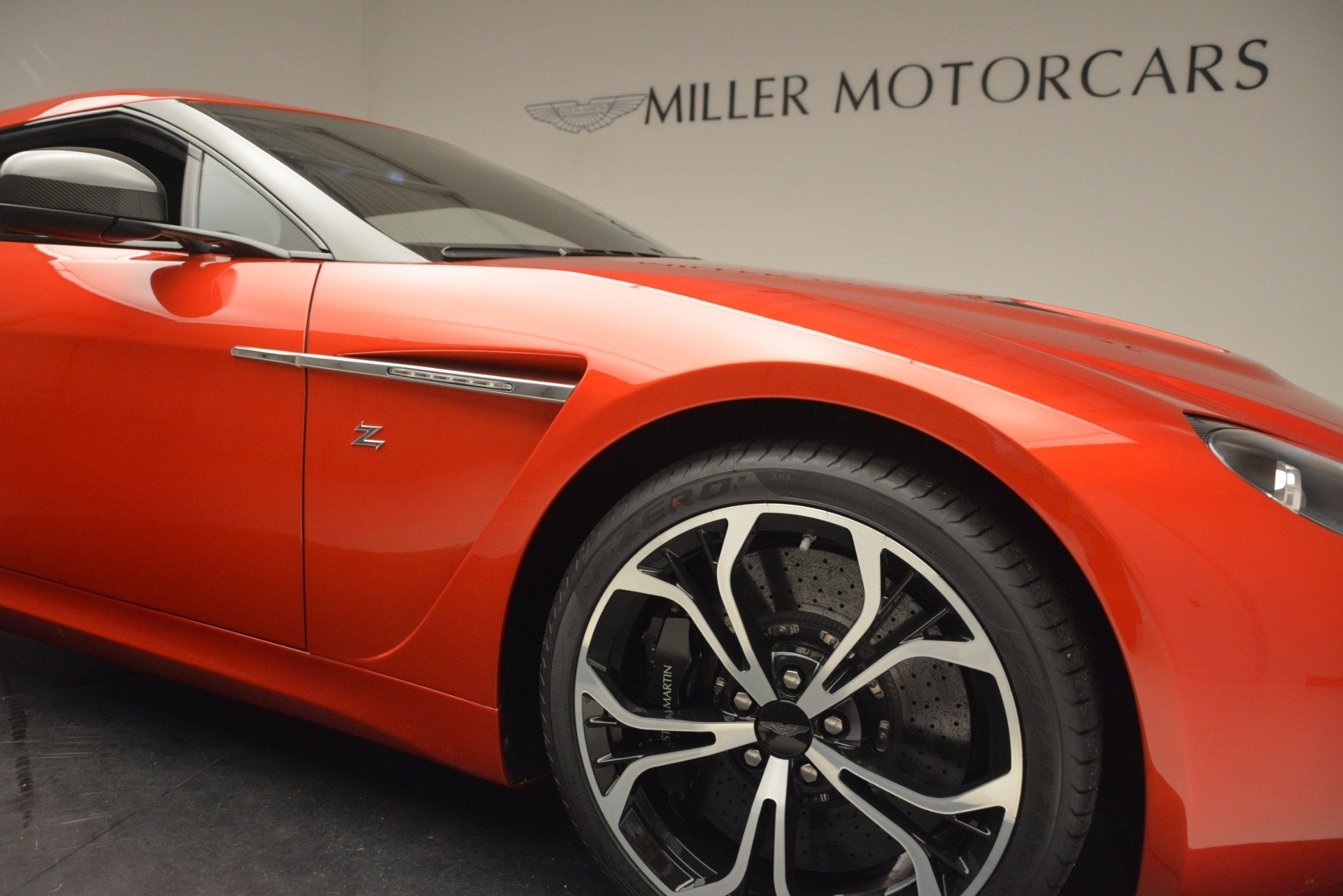 Used 2013 Aston Martin V12 Zagato Coupe For Sale In Greenwich, CT. Alfa Romeo of Greenwich, 7566C 3181_p22