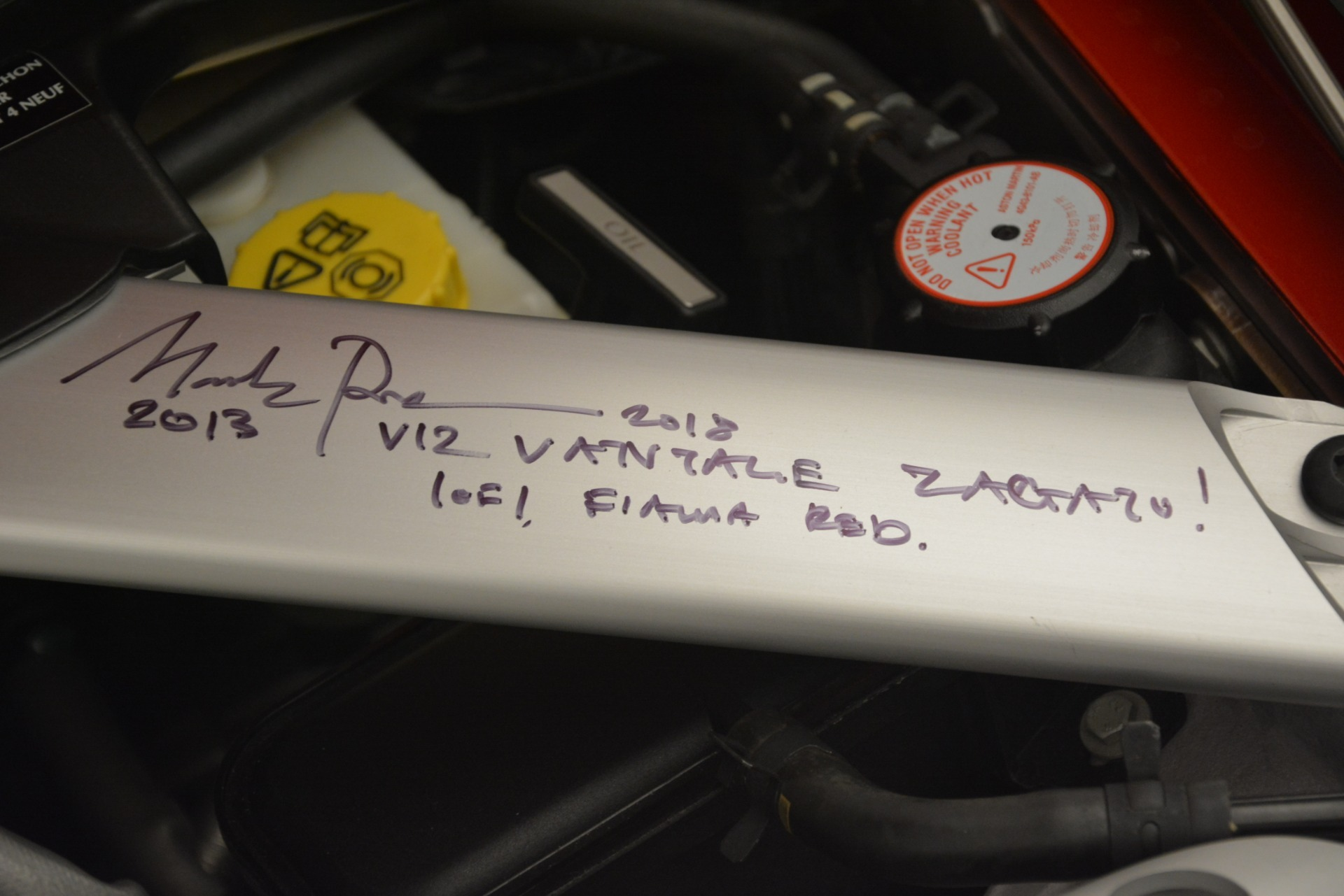 Used 2013 Aston Martin V12 Zagato Coupe For Sale In Greenwich, CT. Alfa Romeo of Greenwich, 7566C 3181_p27