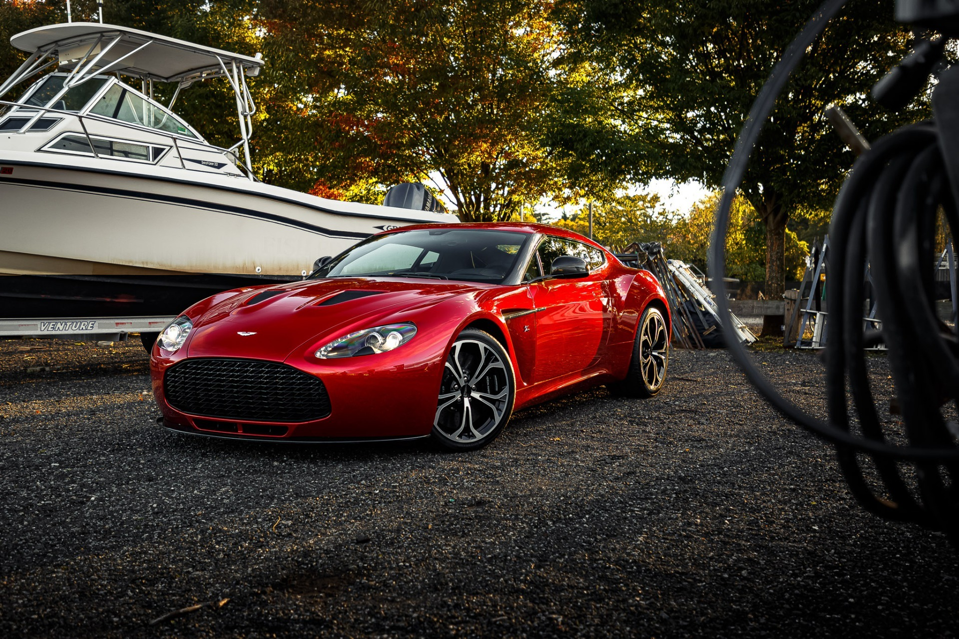 Used 2013 Aston Martin V12 Zagato Coupe For Sale In Greenwich, CT. Alfa Romeo of Greenwich, 7566C 3181_p30