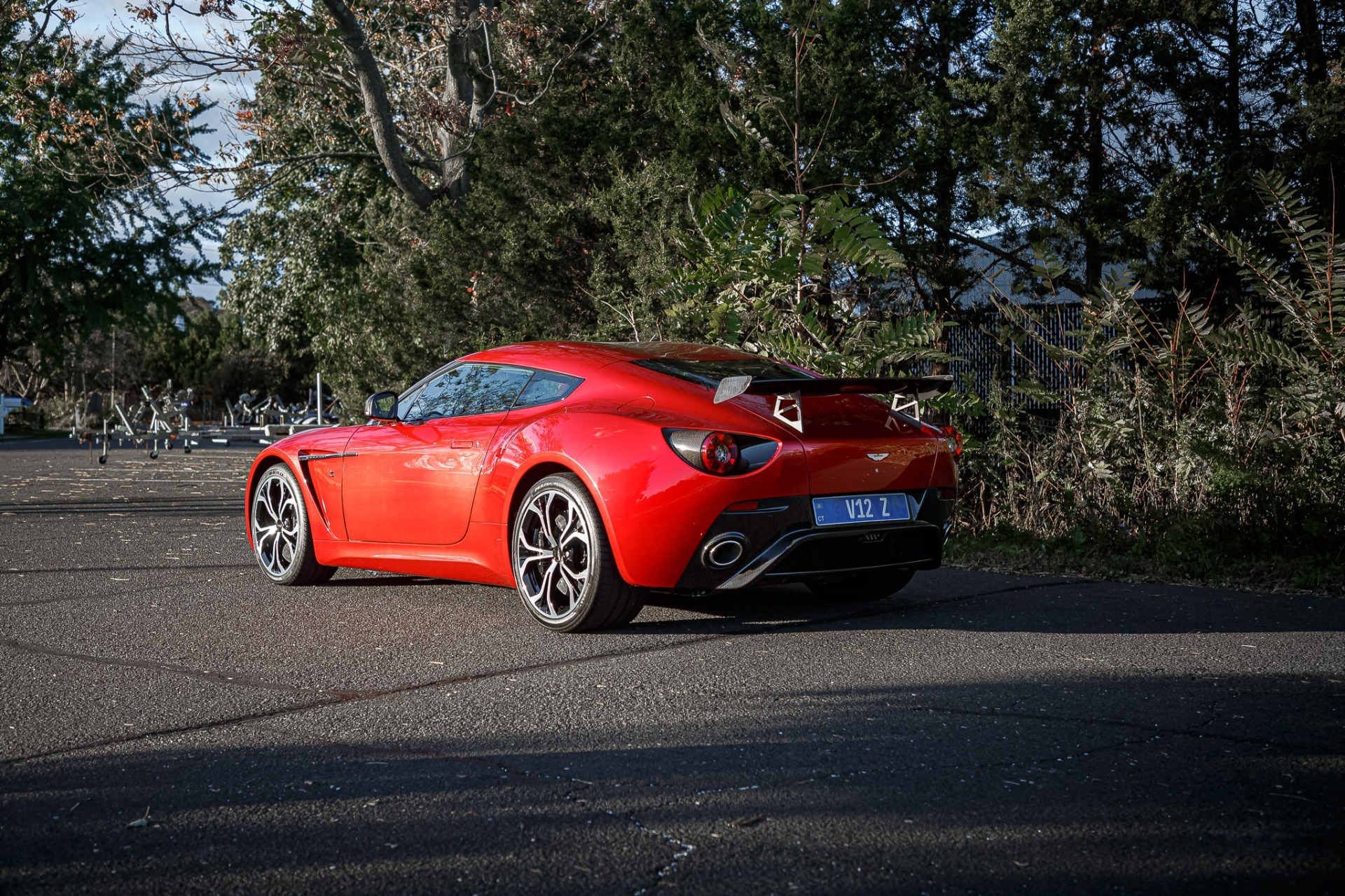 Used 2013 Aston Martin V12 Zagato Coupe For Sale In Greenwich, CT. Alfa Romeo of Greenwich, 7566C 3181_p34