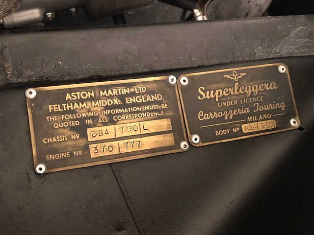 Used 1961 Aston Martin DB4 Series IV Coupe For Sale In Greenwich, CT. Alfa Romeo of Greenwich, 7567C 3186_p35