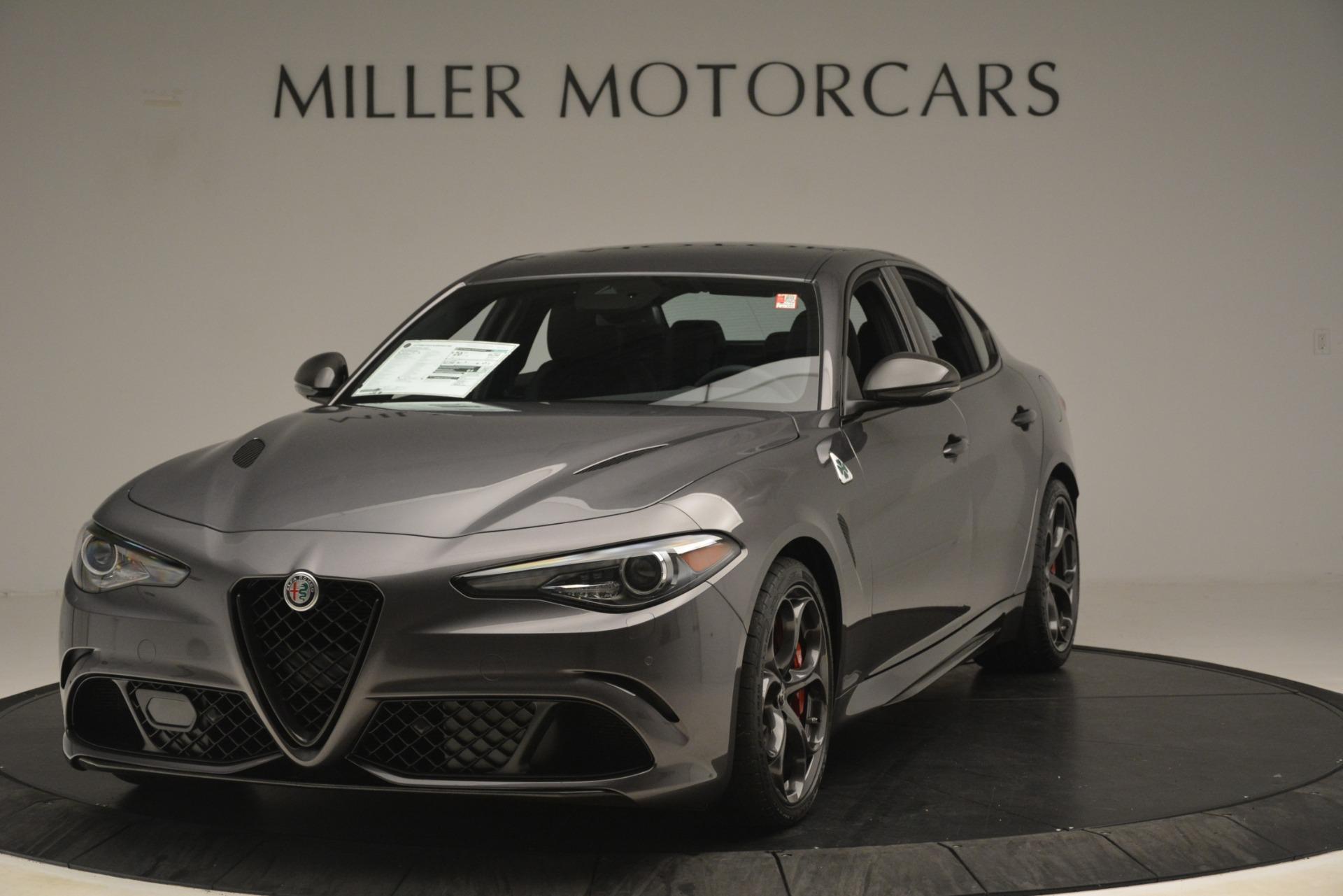 New 2019 Alfa Romeo Giulia Quadrifoglio For Sale In Greenwich, CT. Alfa Romeo of Greenwich, LW332 3193_main
