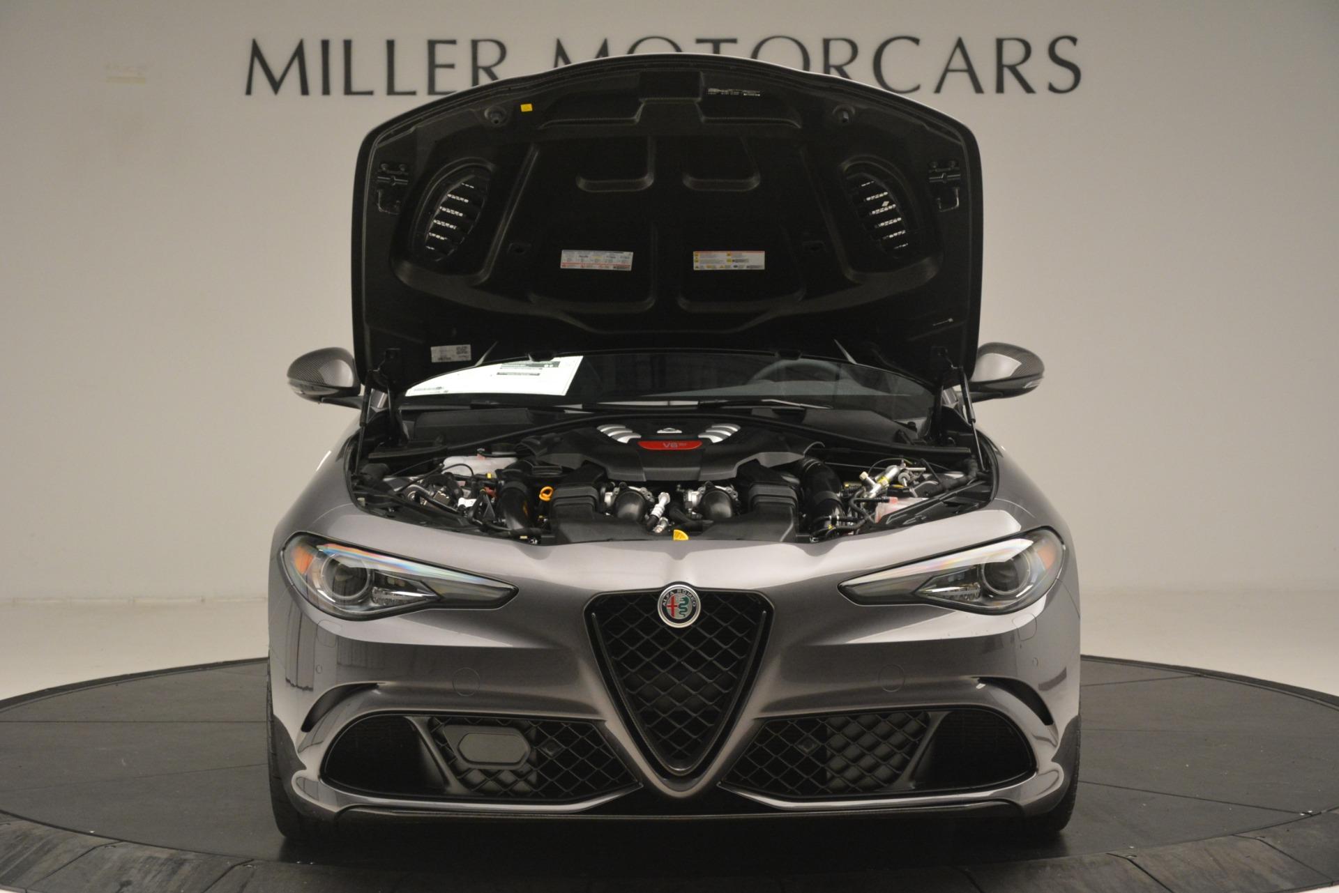 New 2019 Alfa Romeo Giulia Quadrifoglio For Sale In Greenwich, CT. Alfa Romeo of Greenwich, LW332 3193_p13