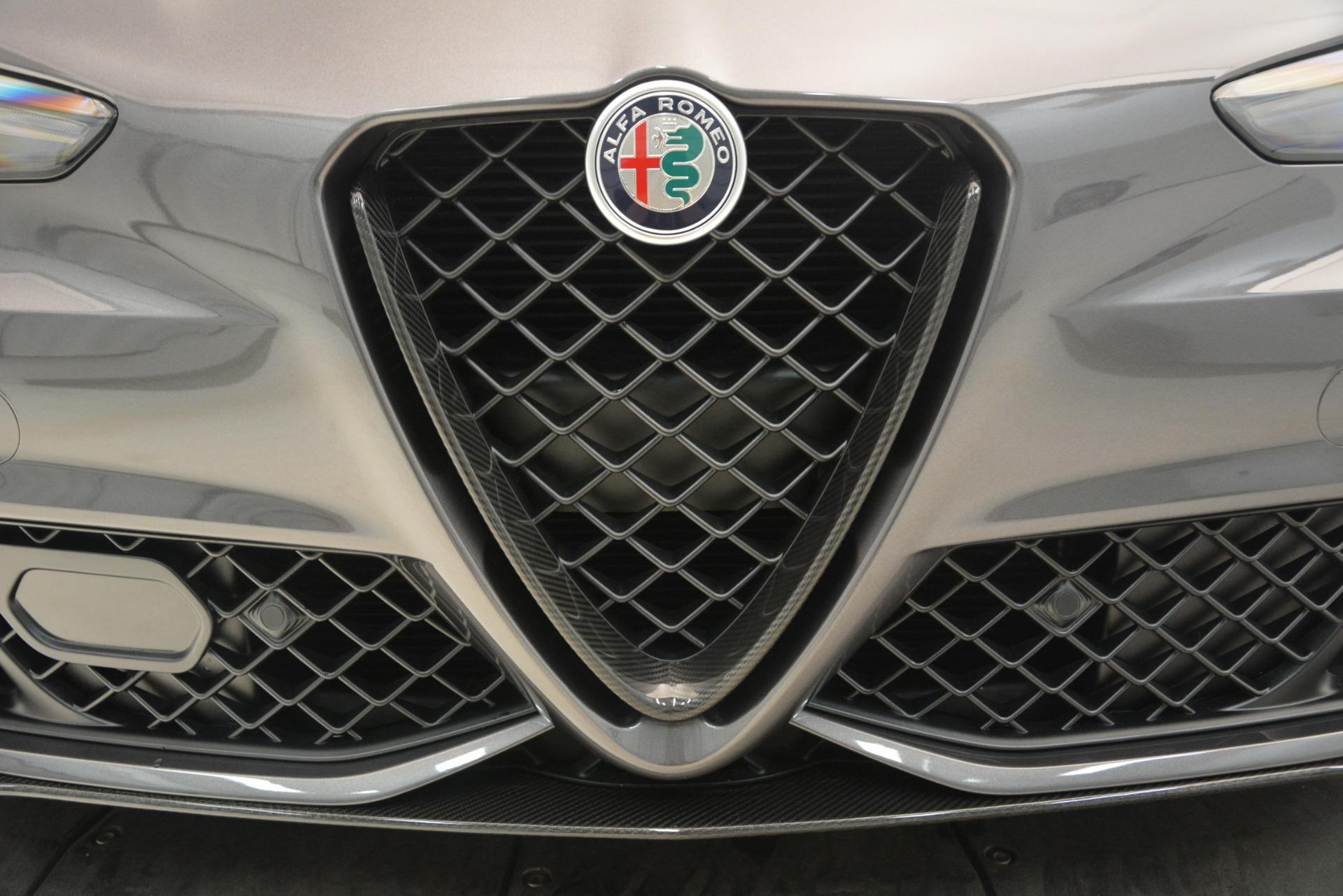 New 2019 Alfa Romeo Giulia Quadrifoglio For Sale In Greenwich, CT. Alfa Romeo of Greenwich, LW332 3193_p33