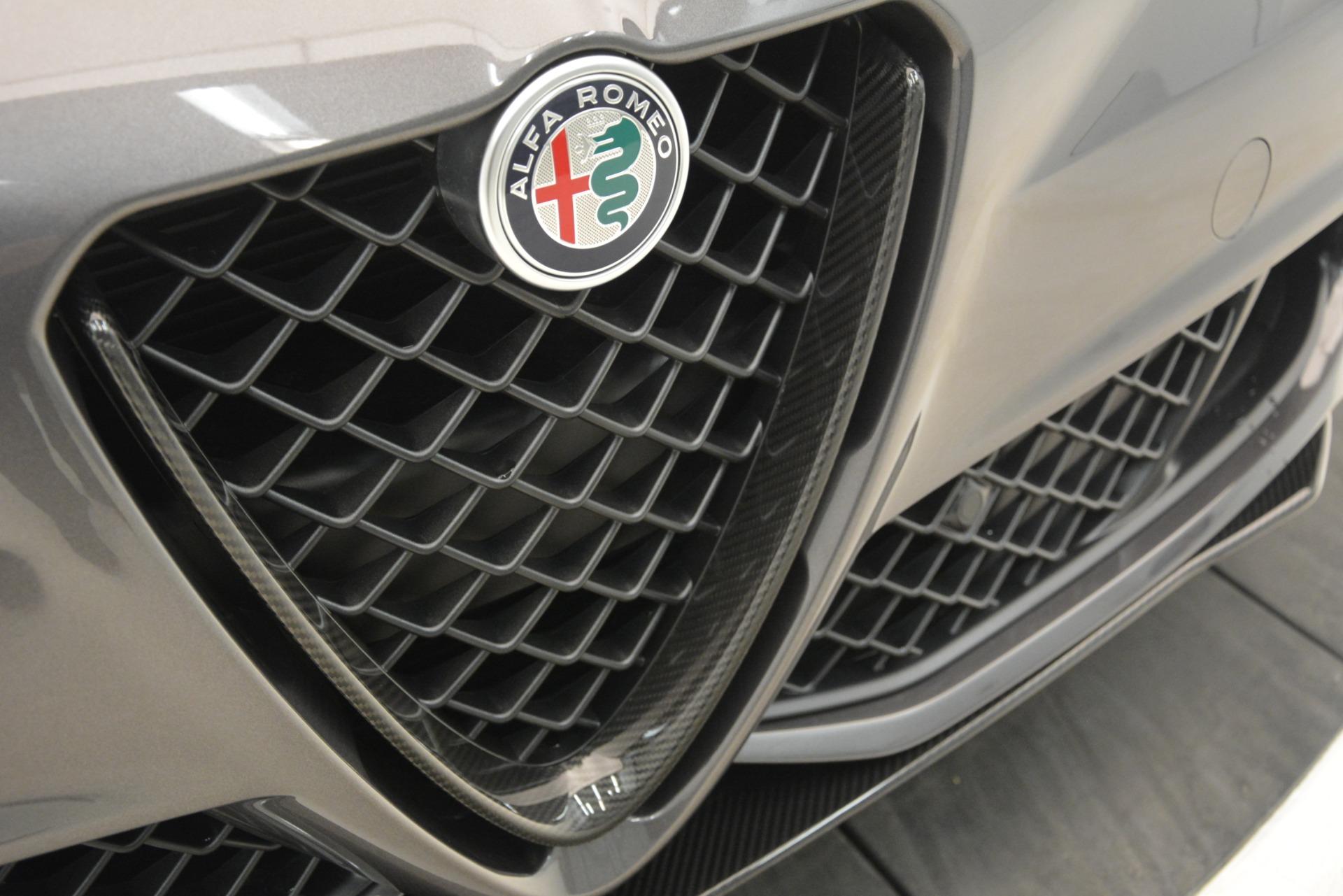 New 2019 Alfa Romeo Giulia Quadrifoglio For Sale In Greenwich, CT. Alfa Romeo of Greenwich, LW332 3193_p41