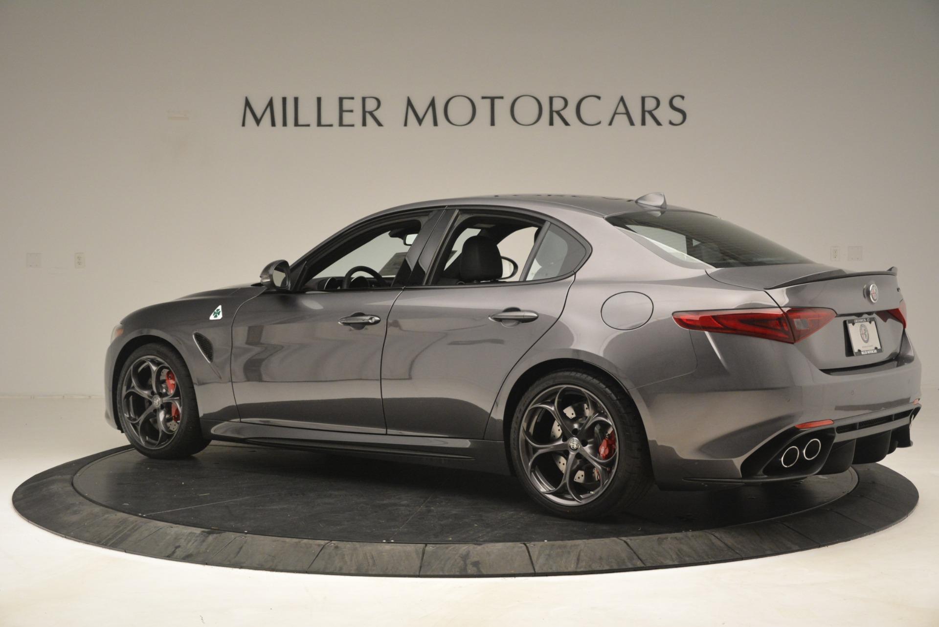 New 2019 Alfa Romeo Giulia Quadrifoglio For Sale In Greenwich, CT. Alfa Romeo of Greenwich, LW332 3193_p4