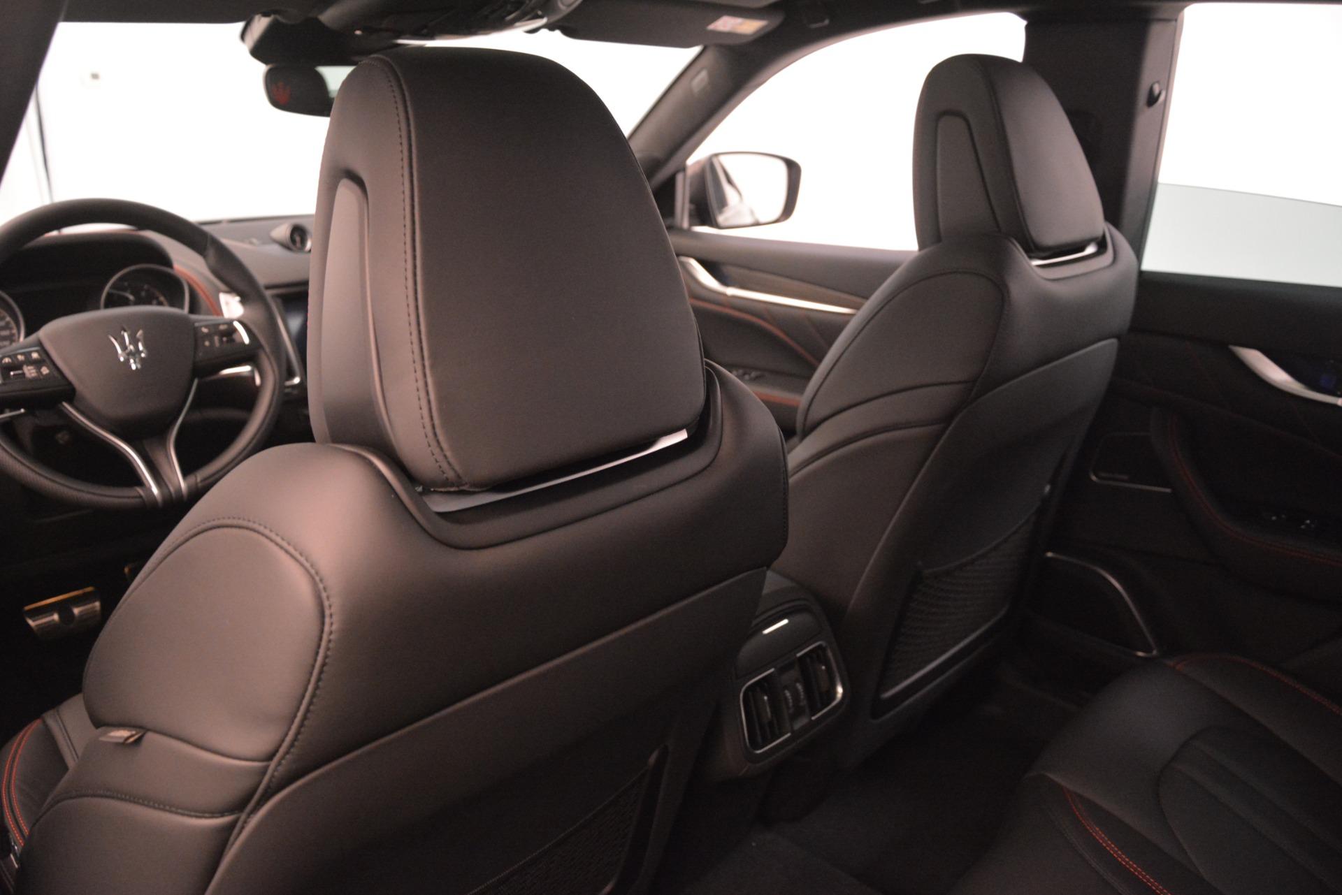 New 2019 Maserati Levante SQ4 GranSport Nerissimo For Sale In Greenwich, CT. Alfa Romeo of Greenwich, W688 3199_p20