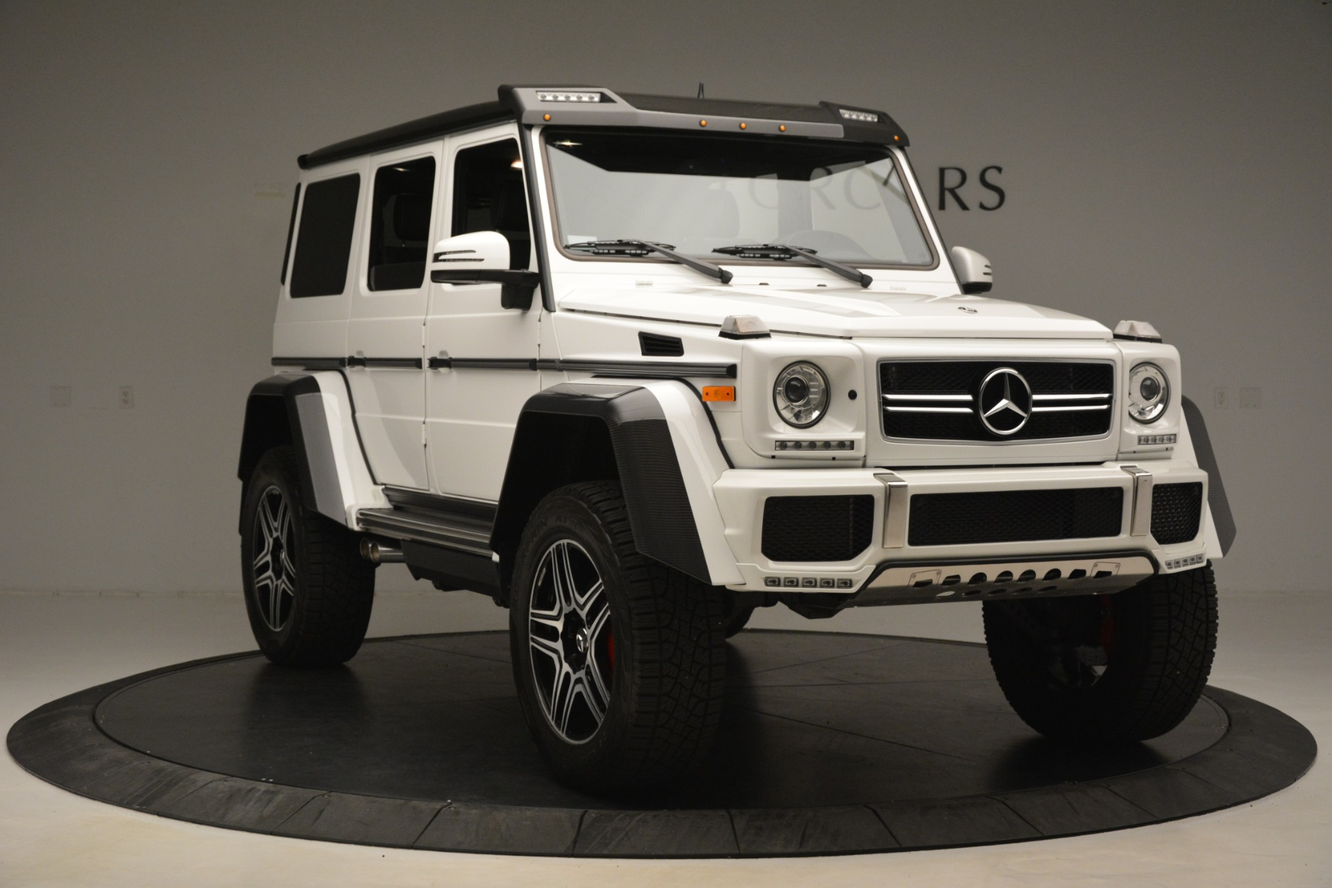 Used 2018 Mercedes-Benz G-Class G 550 4x4 Squared For Sale In Greenwich, CT. Alfa Romeo of Greenwich, 4520A 3204_p11