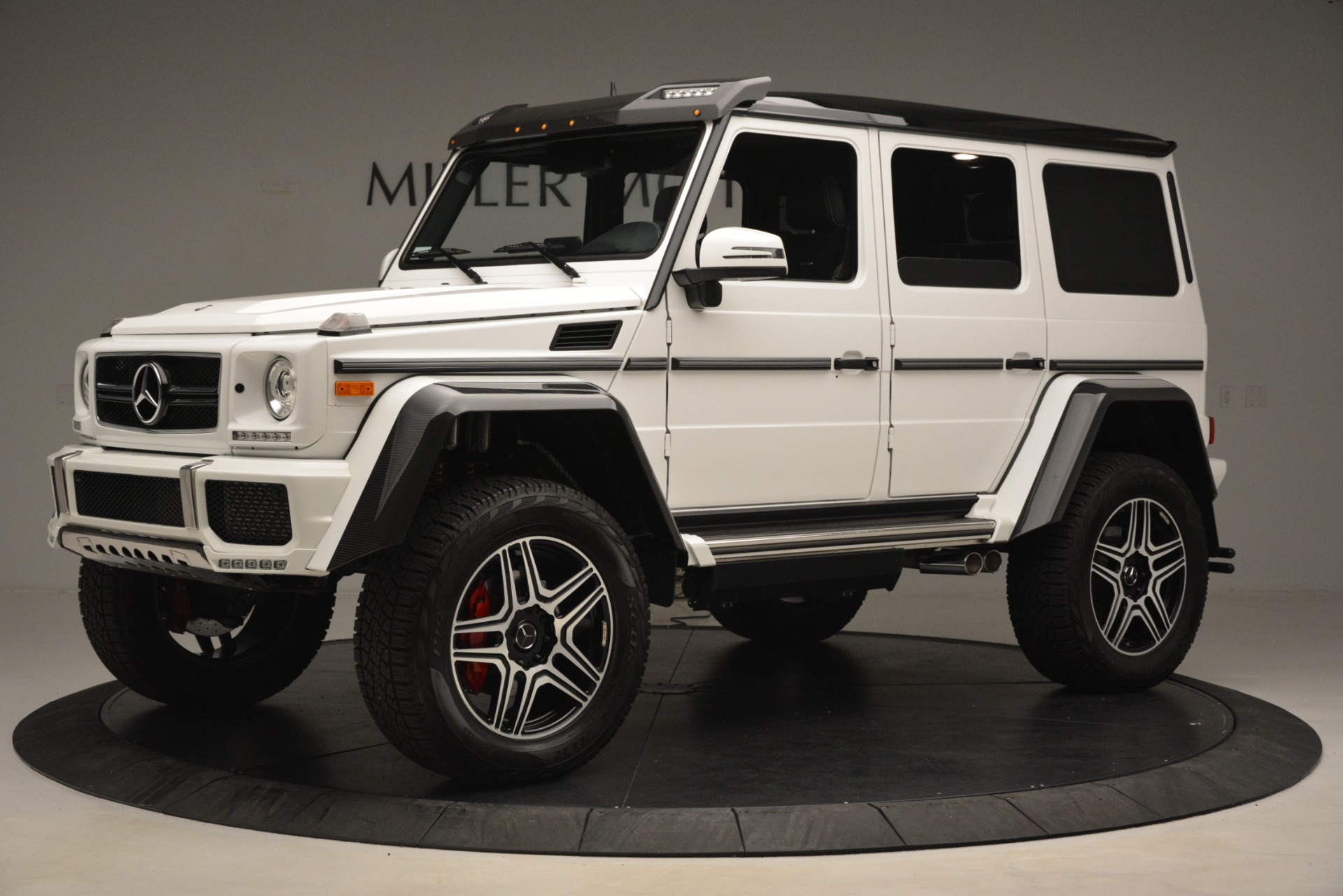 Used 2018 Mercedes-Benz G-Class G 550 4x4 Squared For Sale In Greenwich, CT. Alfa Romeo of Greenwich, 4520A 3204_p2