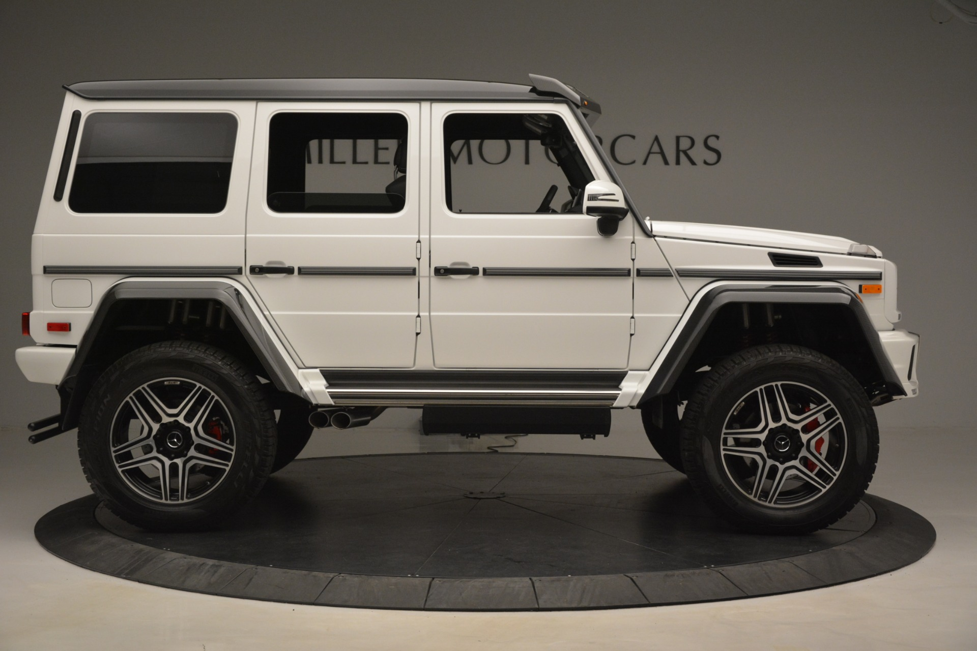 Used 2018 Mercedes-Benz G-Class G 550 4x4 Squared For Sale In Greenwich, CT. Alfa Romeo of Greenwich, 4520A 3204_p9