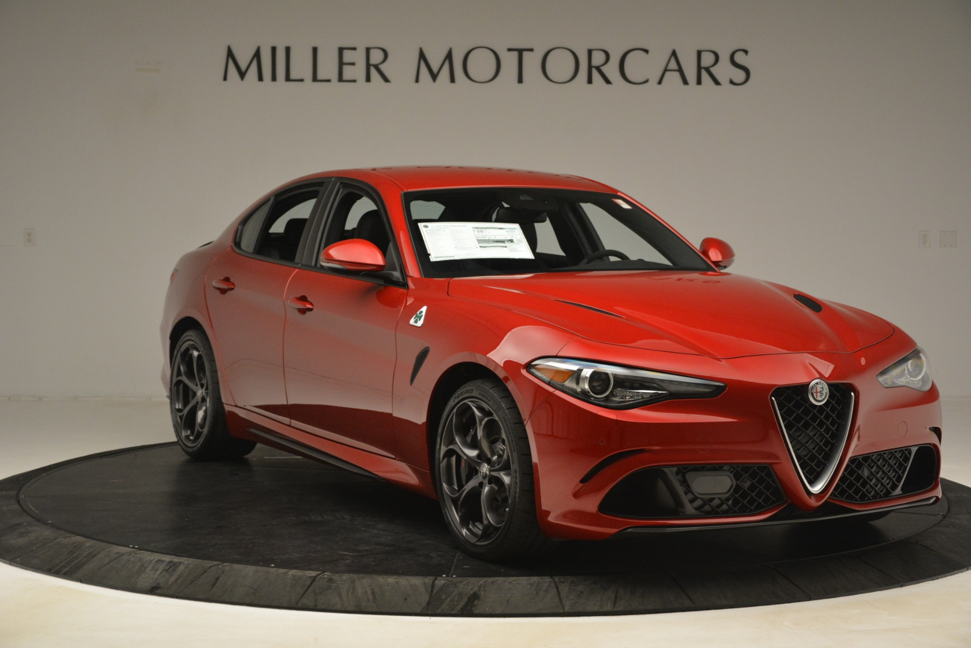New 2019 Alfa Romeo Giulia Quadrifoglio For Sale In Greenwich, CT. Alfa Romeo of Greenwich, L620 3208_p11