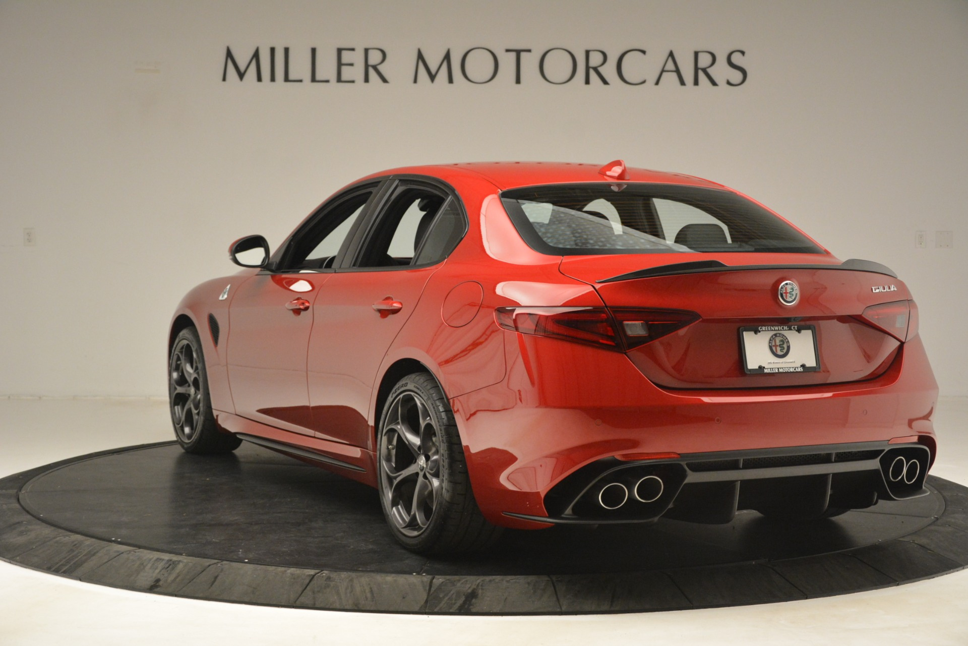 New 2019 Alfa Romeo Giulia Quadrifoglio For Sale In Greenwich, CT. Alfa Romeo of Greenwich, L620 3208_p5