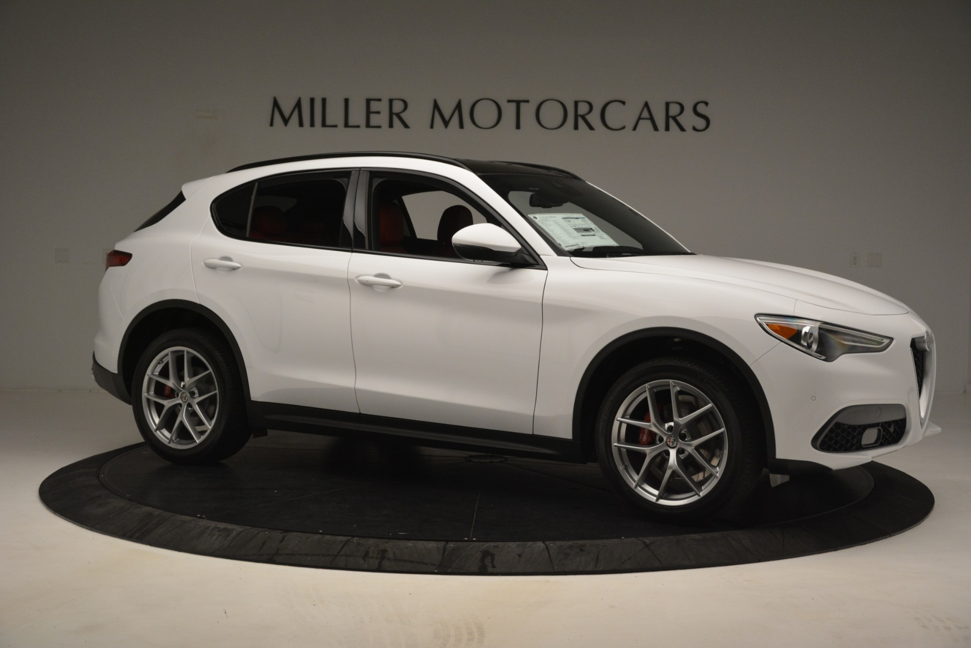 New 2019 Alfa Romeo Stelvio Ti Sport Q4 For Sale In Greenwich, CT. Alfa Romeo of Greenwich, L621 3209_p10