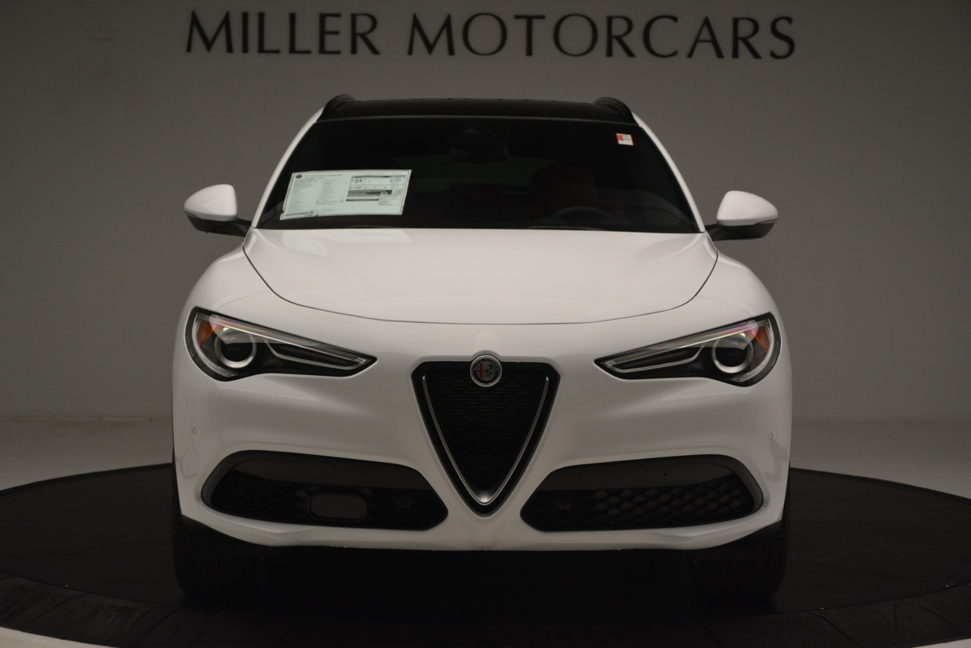 New 2019 Alfa Romeo Stelvio Ti Sport Q4 For Sale In Greenwich, CT. Alfa Romeo of Greenwich, L621 3209_p12