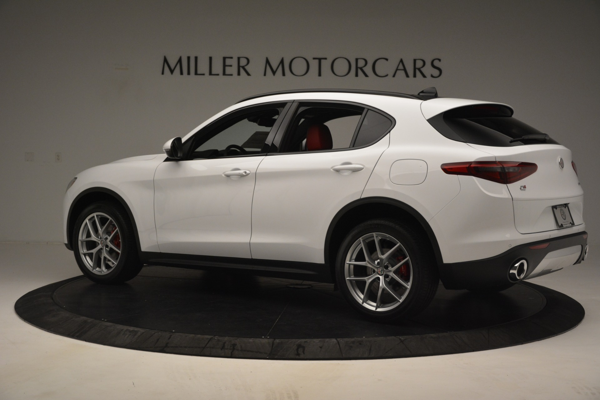 New 2019 Alfa Romeo Stelvio Ti Sport Q4 For Sale In Greenwich, CT. Alfa Romeo of Greenwich, L621 3209_p4
