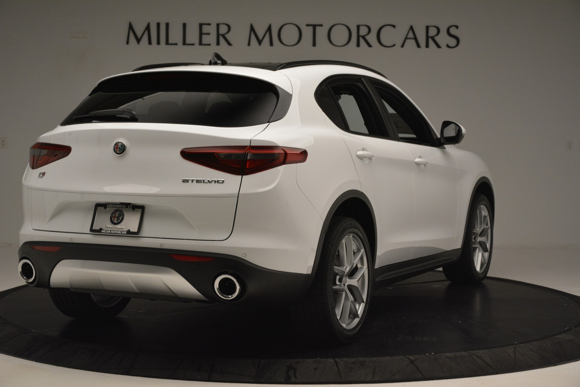 New 2019 Alfa Romeo Stelvio Ti Sport Q4 For Sale In Greenwich, CT. Alfa Romeo of Greenwich, L621 3209_p7