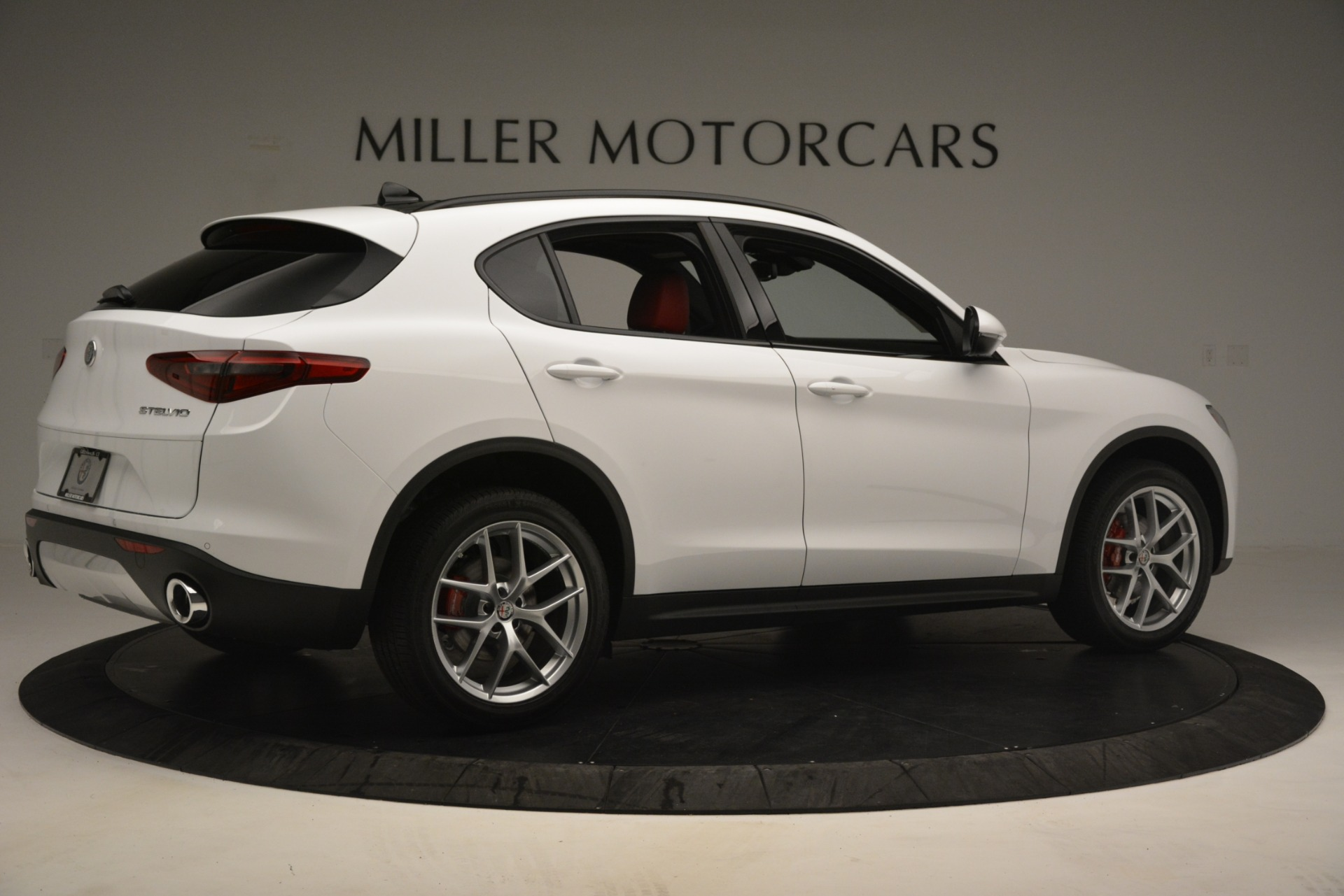 New 2019 Alfa Romeo Stelvio Ti Sport Q4 For Sale In Greenwich, CT. Alfa Romeo of Greenwich, L621 3209_p8