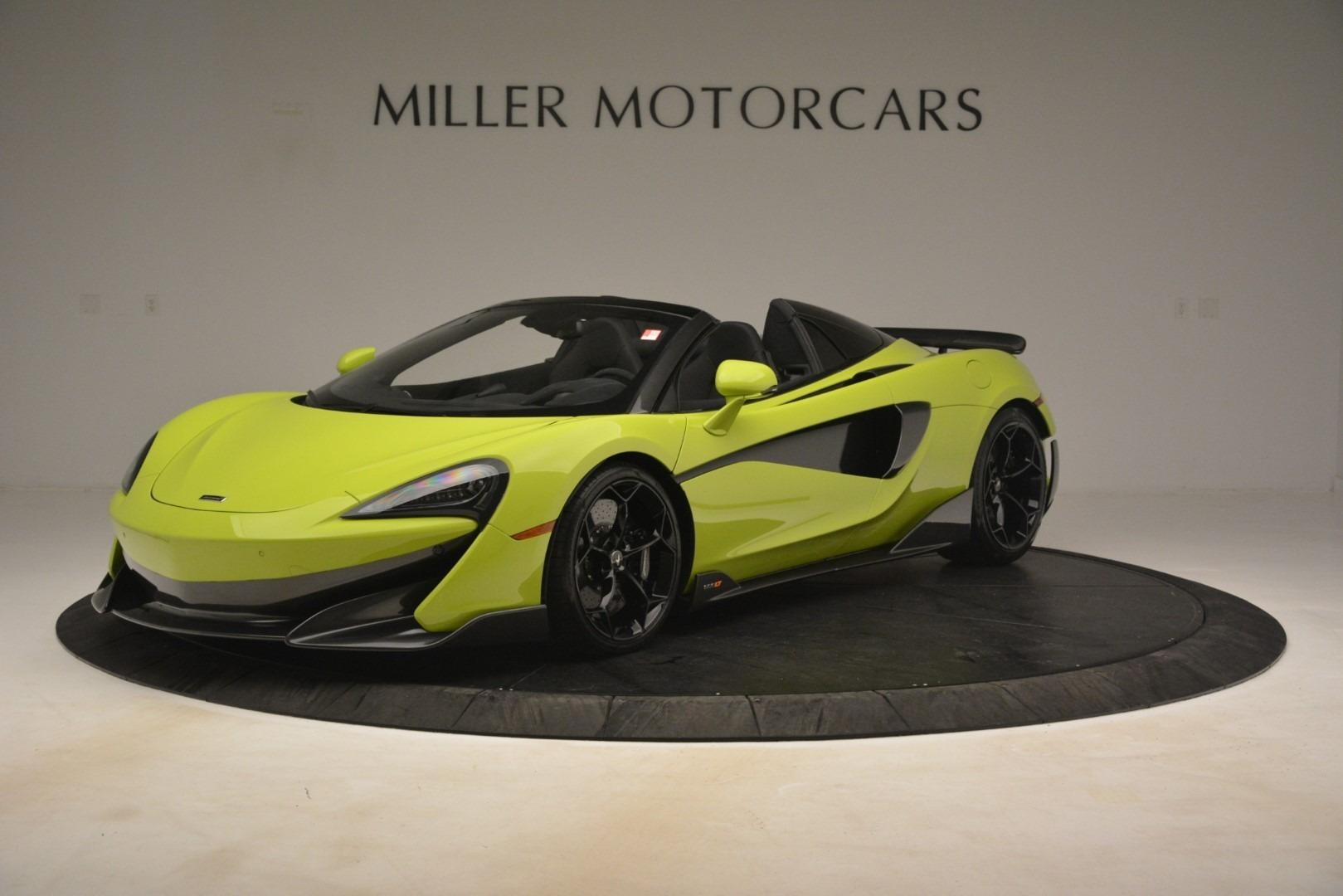 New 2020 McLaren 600LT Convertible For Sale In Greenwich, CT. Alfa Romeo of Greenwich, MC425 3213_main