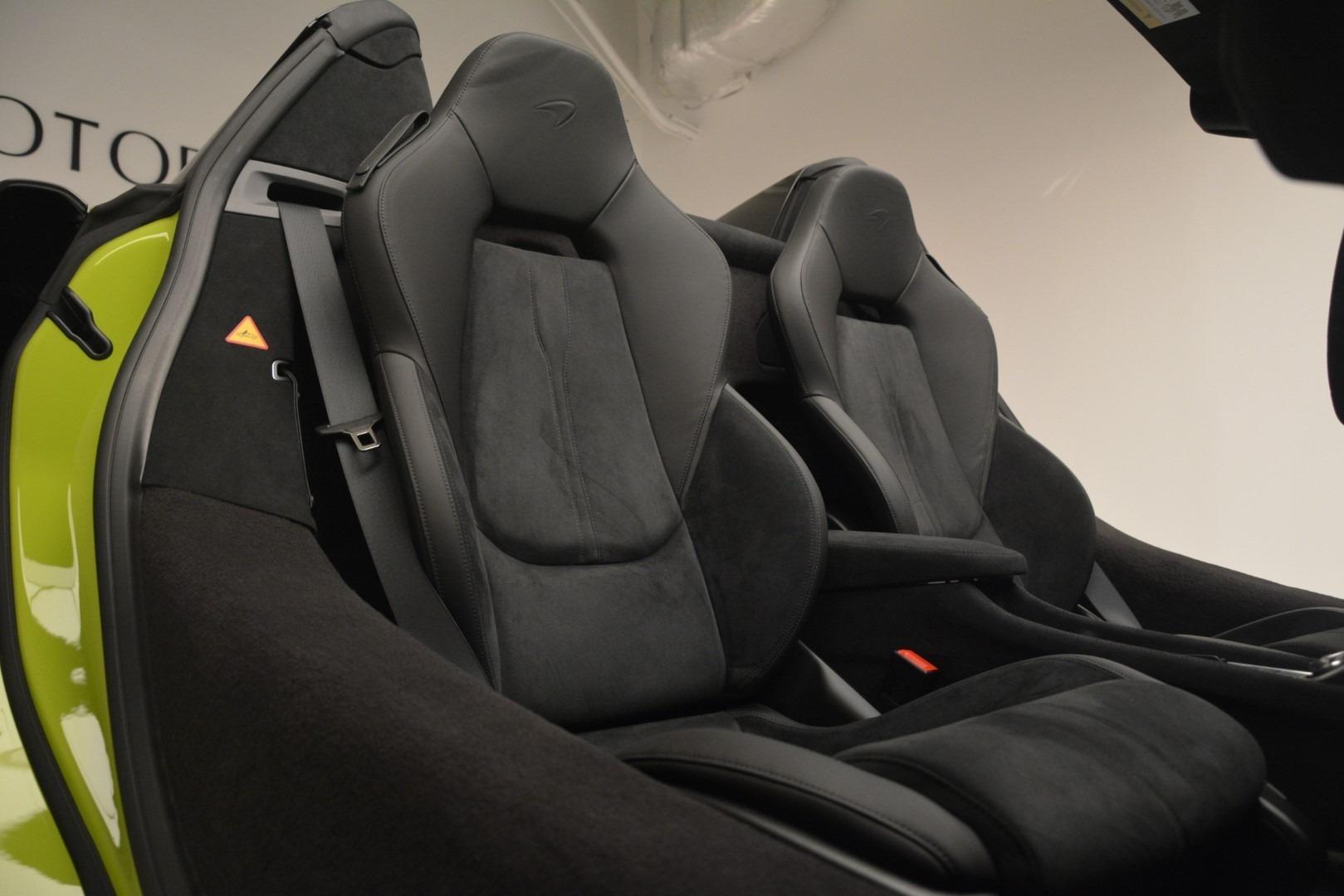 New 2020 McLaren 600LT Convertible For Sale In Greenwich, CT. Alfa Romeo of Greenwich, MC425 3213_p34