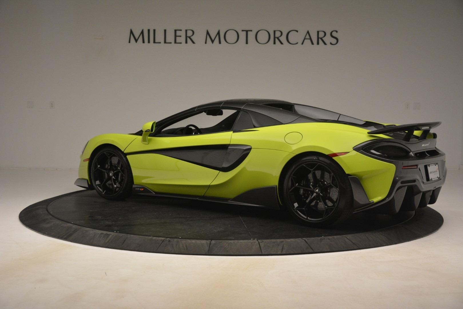 New 2020 McLaren 600LT Convertible For Sale In Greenwich, CT. Alfa Romeo of Greenwich, MC425 3213_p4