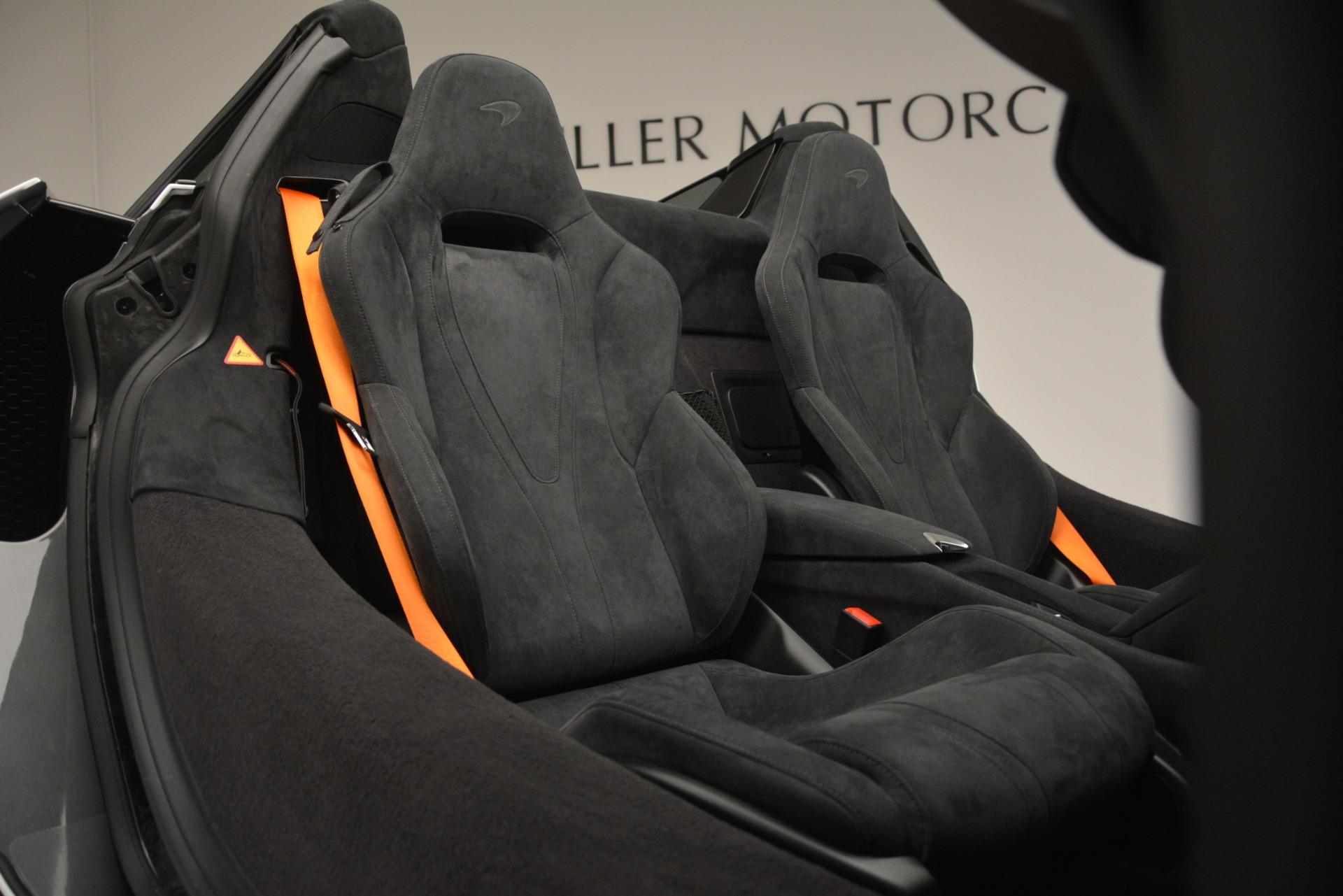 New 2020 McLaren 720S Spider Convertible For Sale In Greenwich, CT. Alfa Romeo of Greenwich, MC432 3229_p23