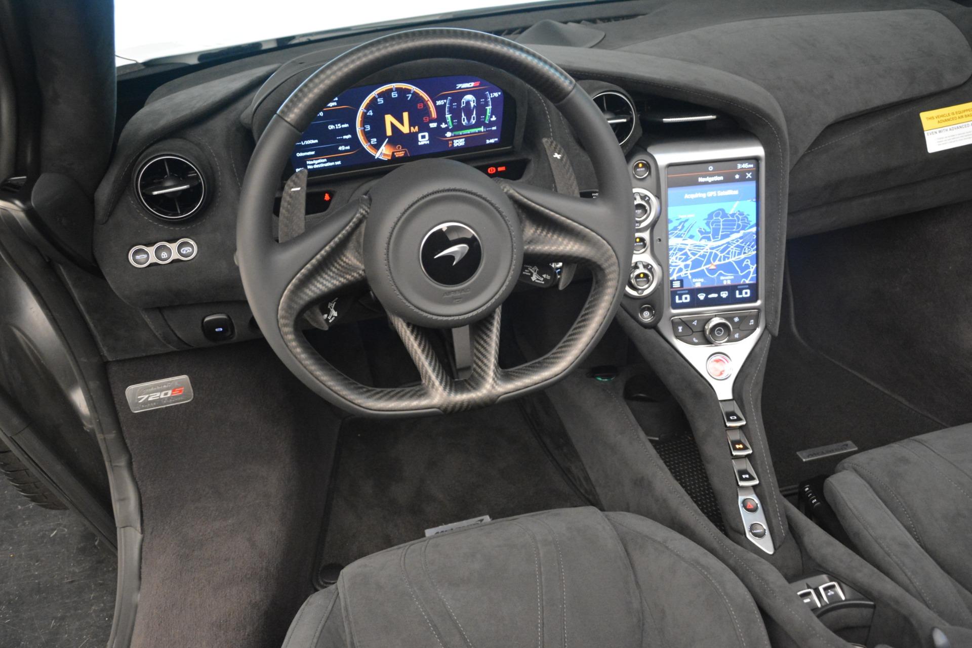 New 2020 McLaren 720S Spider Convertible For Sale In Greenwich, CT. Alfa Romeo of Greenwich, MC432 3229_p27