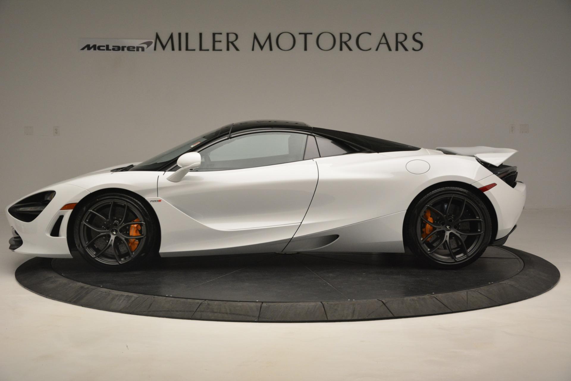 New 2020 McLaren 720S Spider Convertible For Sale In Greenwich, CT. Alfa Romeo of Greenwich, MC432 3229_p3