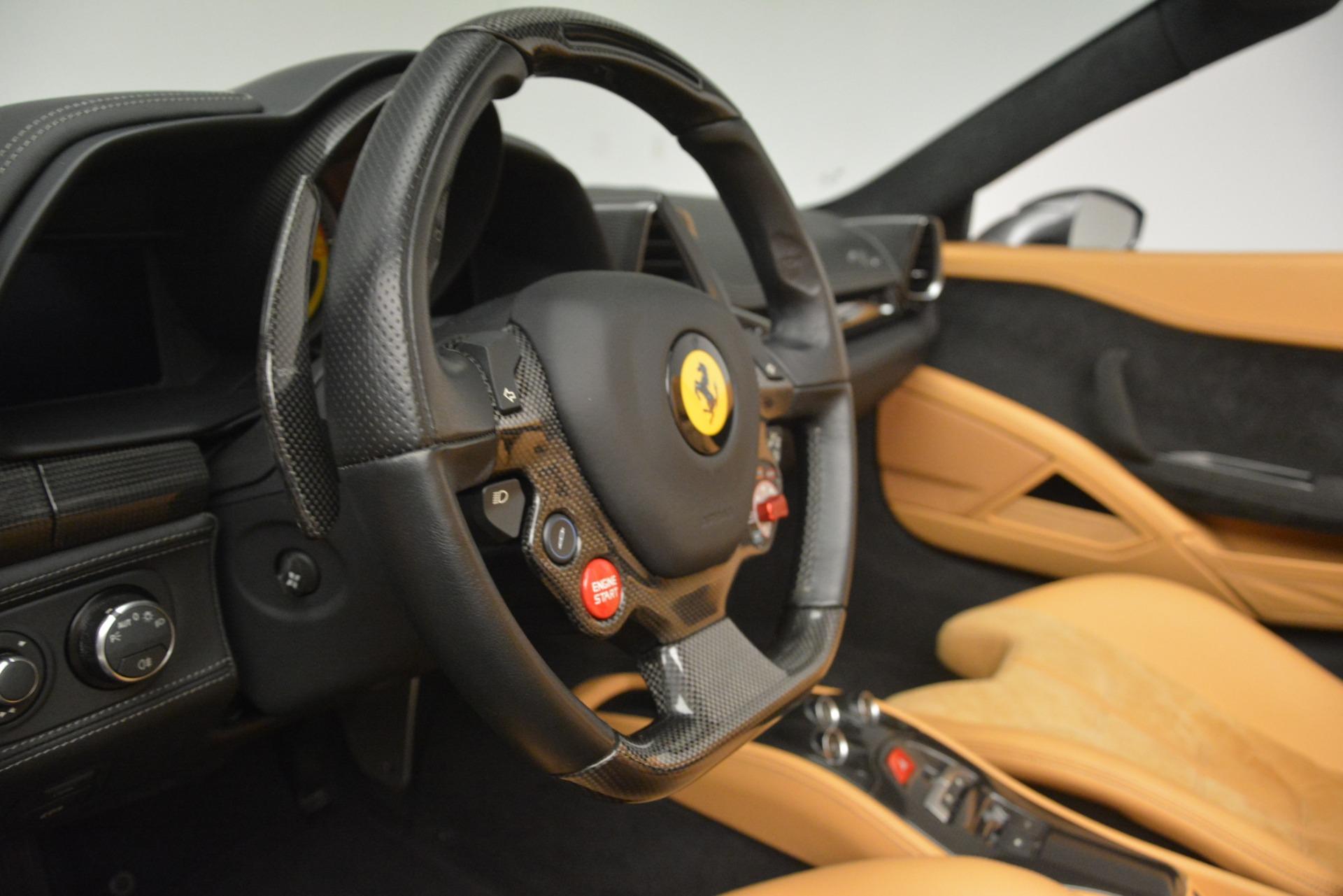 Used 2013 Ferrari 458 Spider  For Sale In Greenwich, CT. Alfa Romeo of Greenwich, 4575 3232_p23