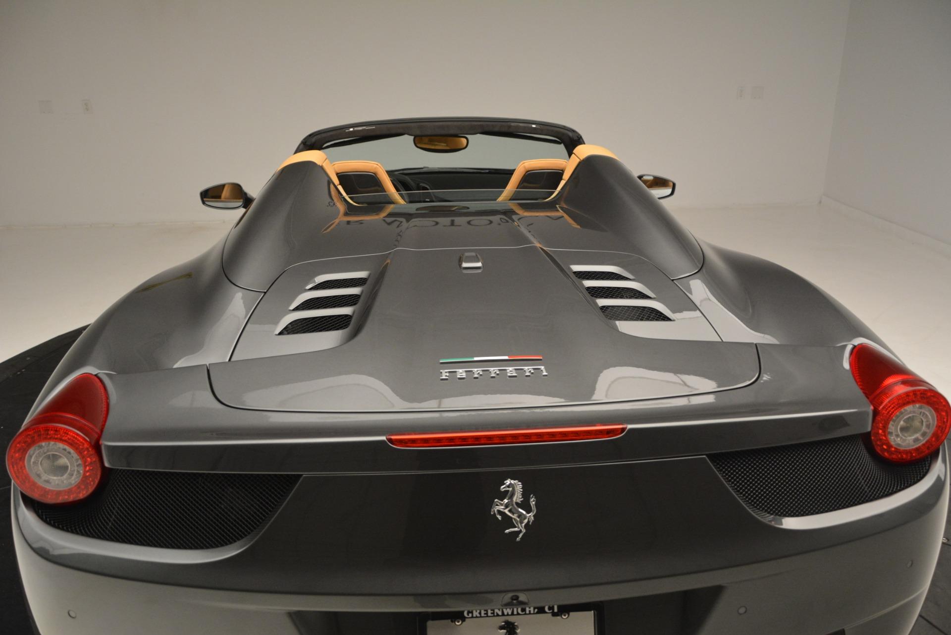 Used 2013 Ferrari 458 Spider  For Sale In Greenwich, CT. Alfa Romeo of Greenwich, 4575 3232_p29