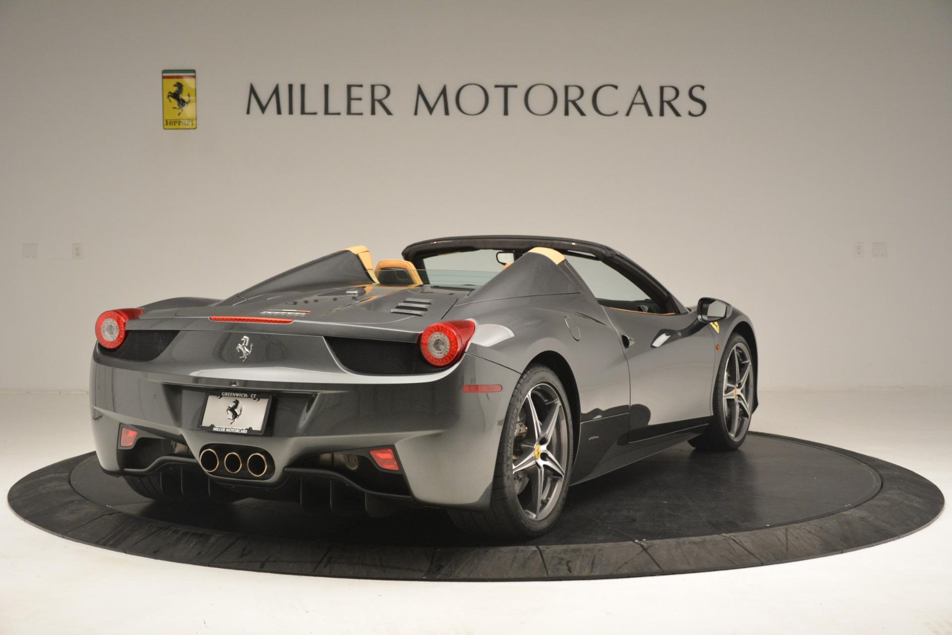 Used 2013 Ferrari 458 Spider  For Sale In Greenwich, CT. Alfa Romeo of Greenwich, 4575 3232_p8